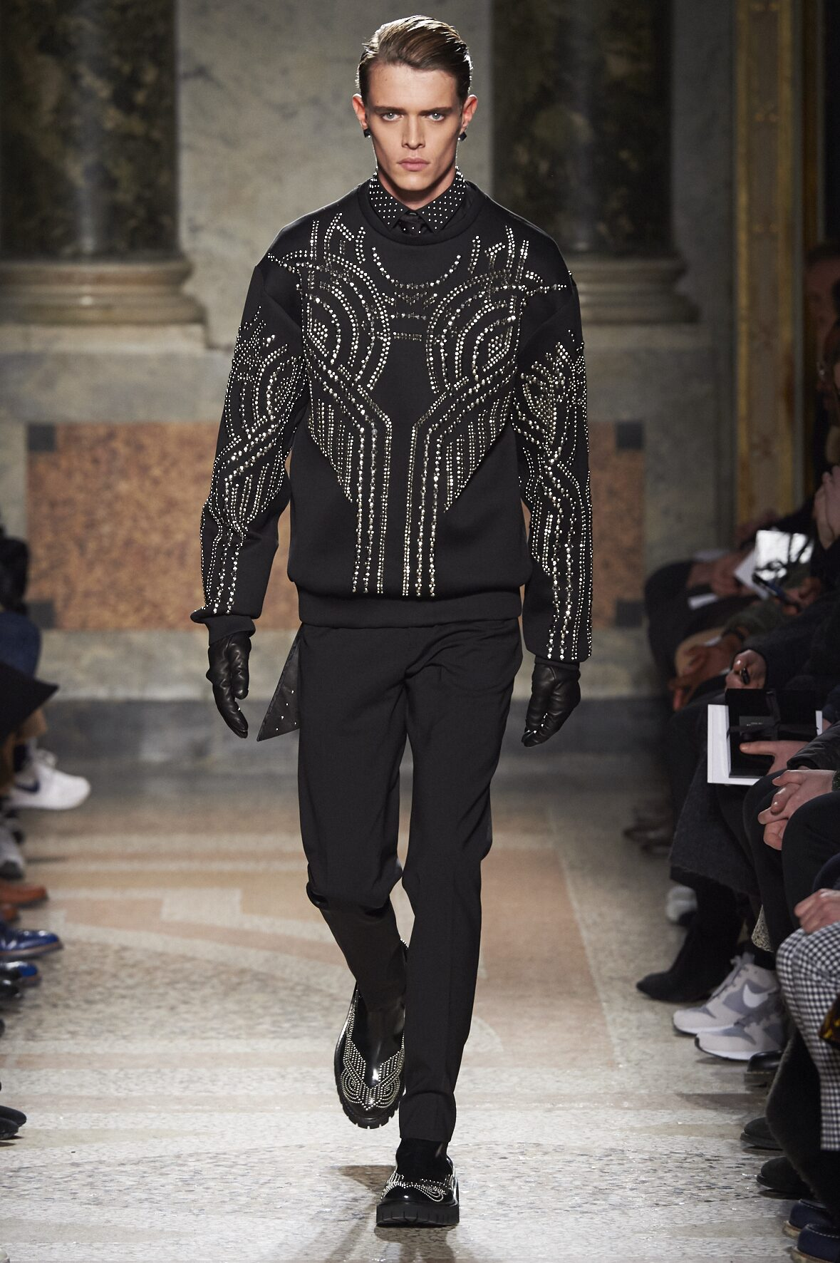 Runway Les Hommes Fall Winter 2016 Men's Collection Milan Fashion Week