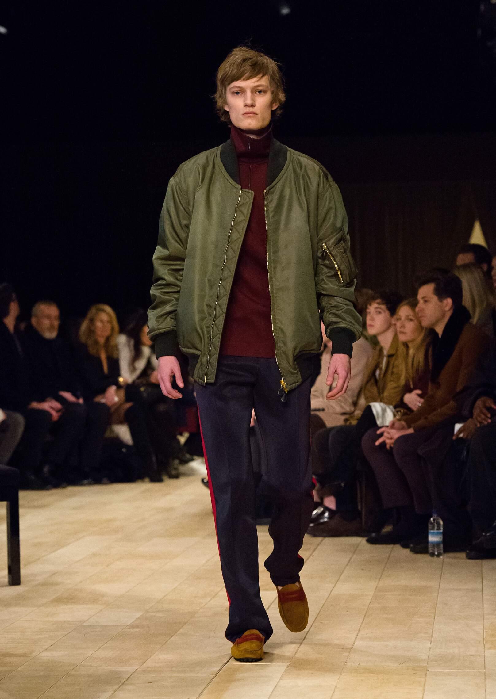 Winter 2016 17 Man Trends Burberry