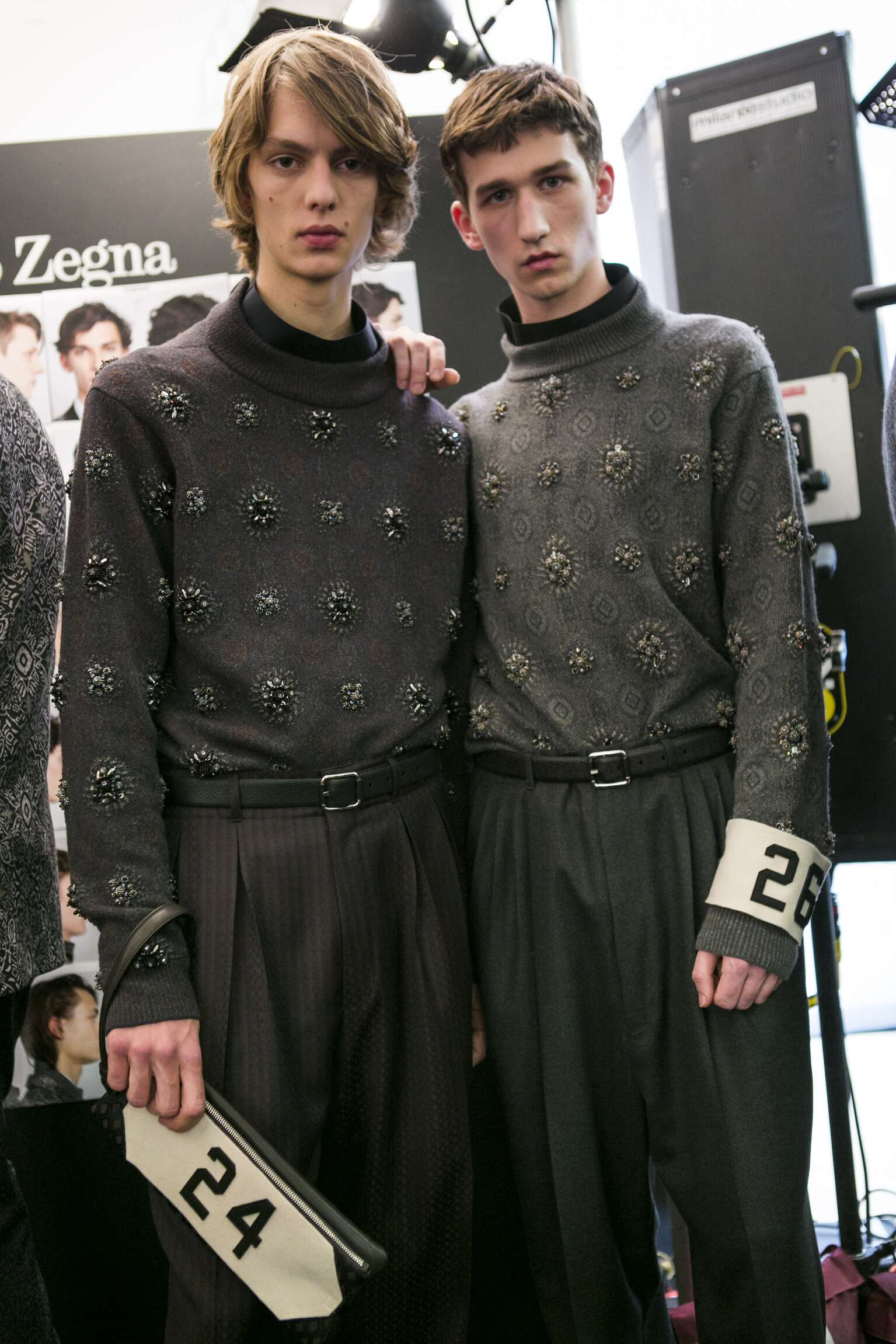 Zegna Couture Backstage