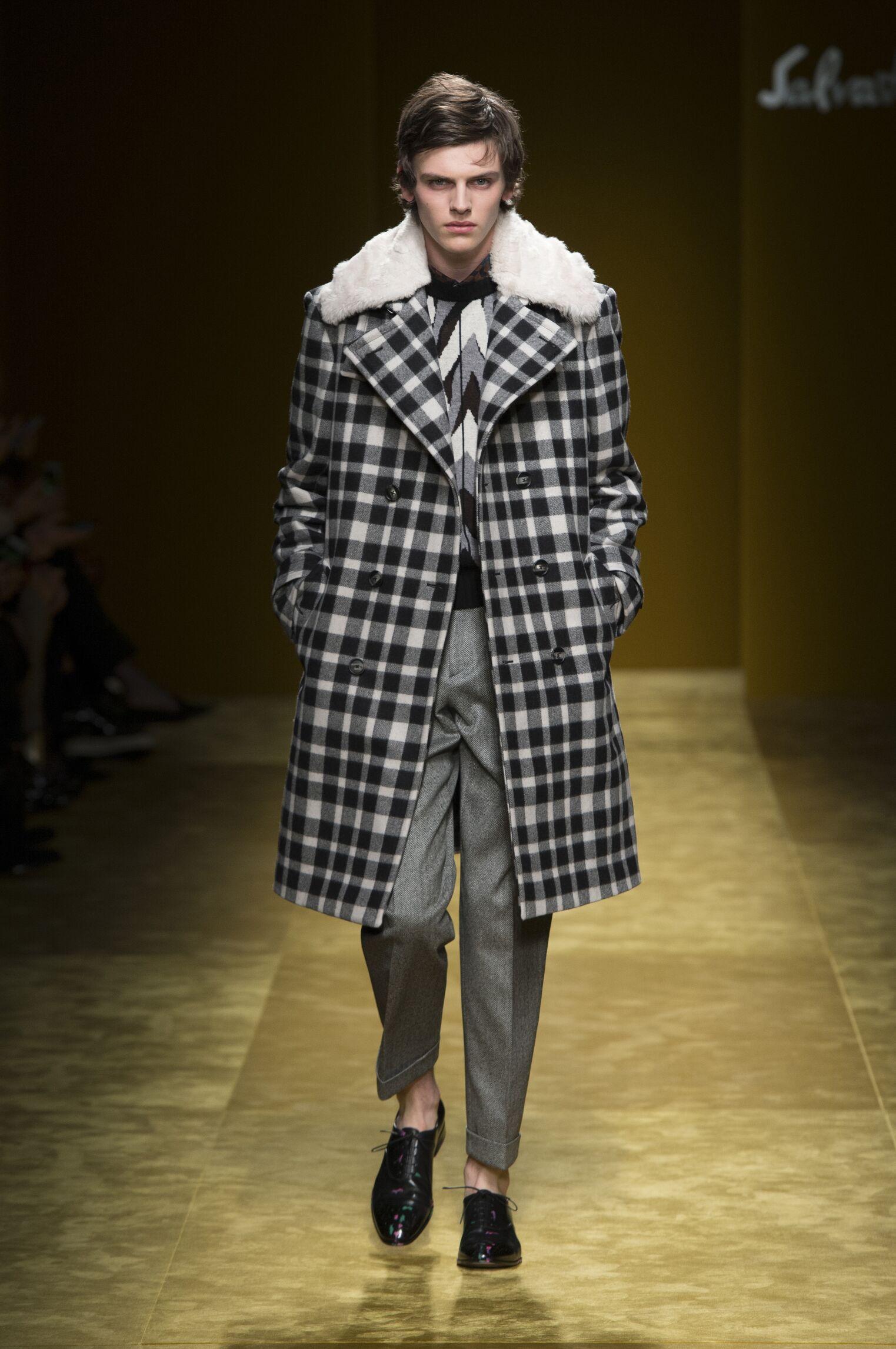 2016-2017 Catwalk Salvatore Ferragamo