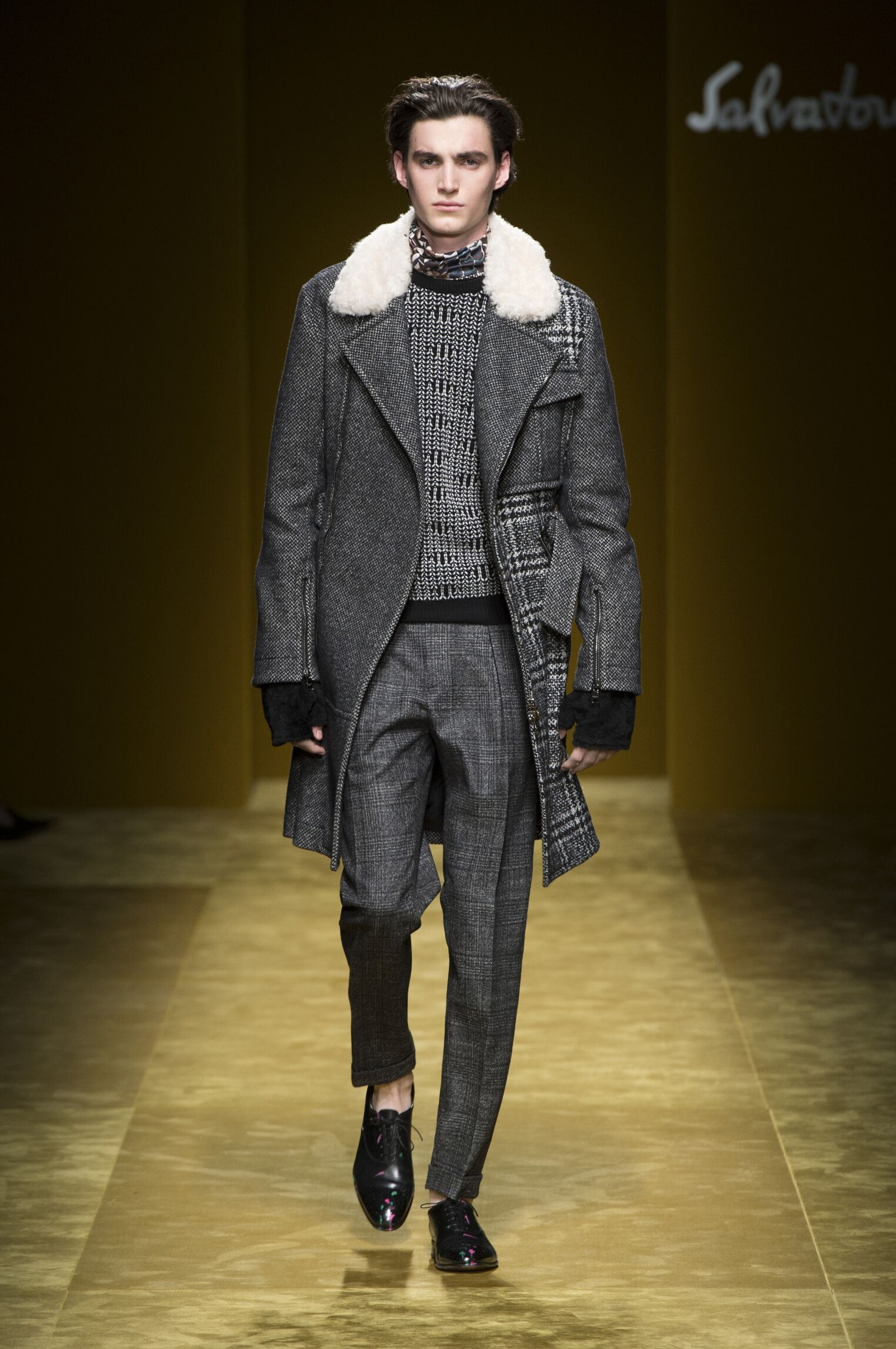 2016 Salvatore Ferragamo Fall Catwalk