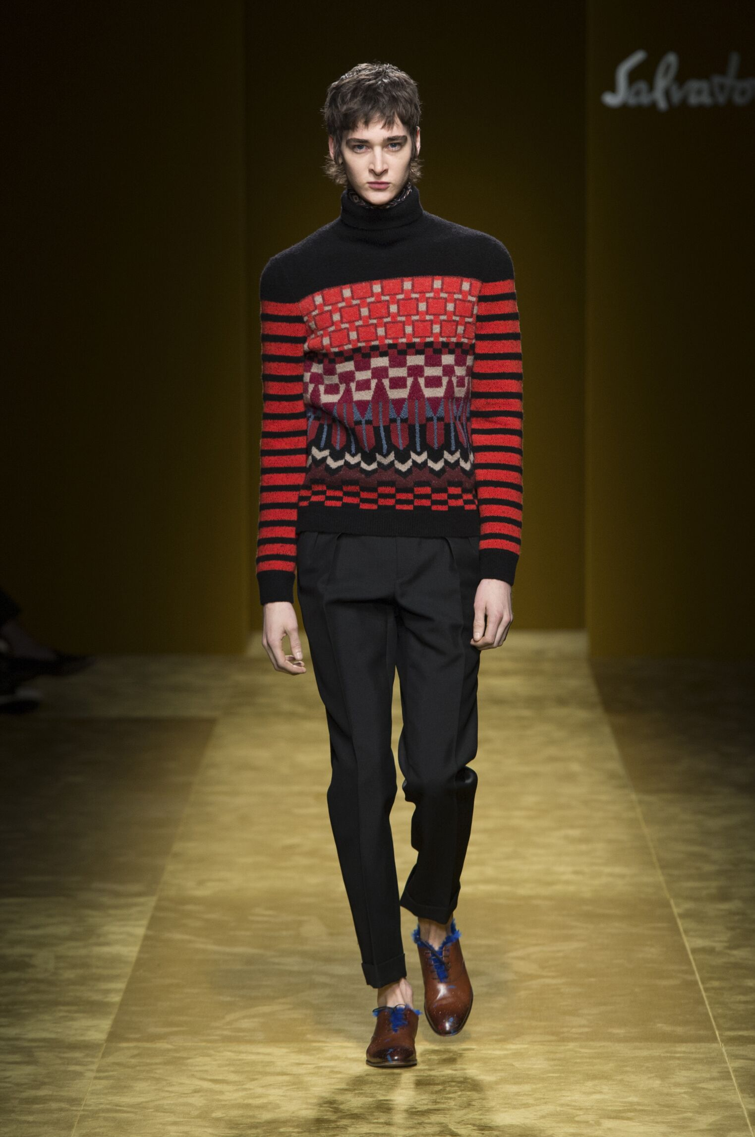 2016 Salvatore Ferragamo Winter Catwalk