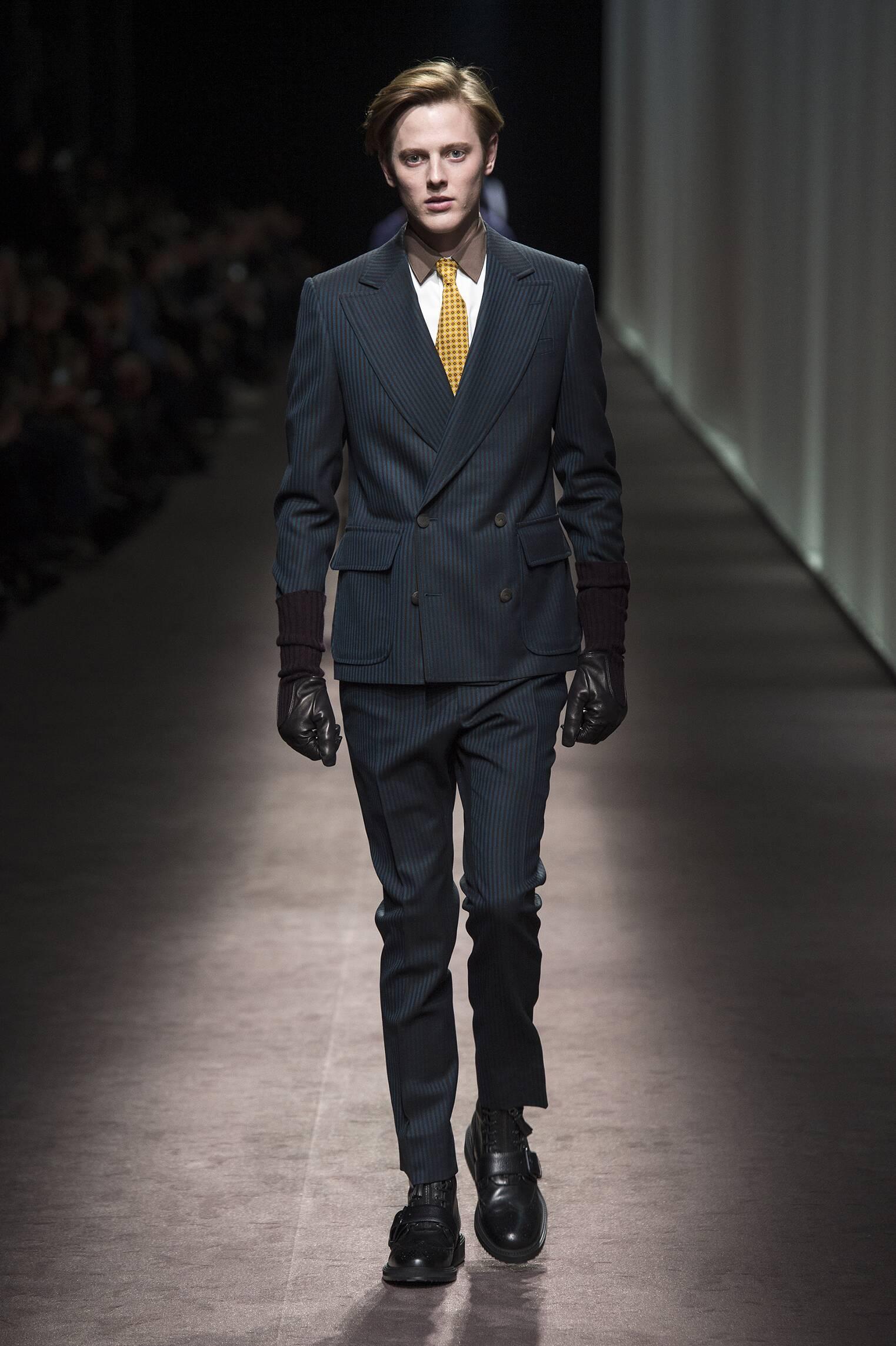 Canali Milan Fashion Week Menswear