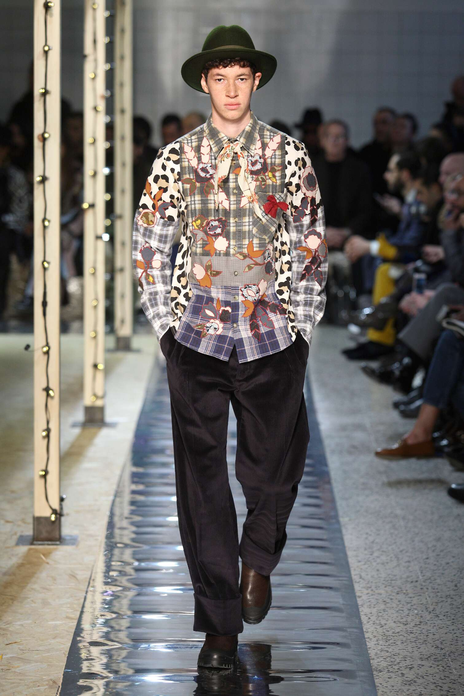 Catwalk Antonio Marras Man Fashion Show Winter 2016