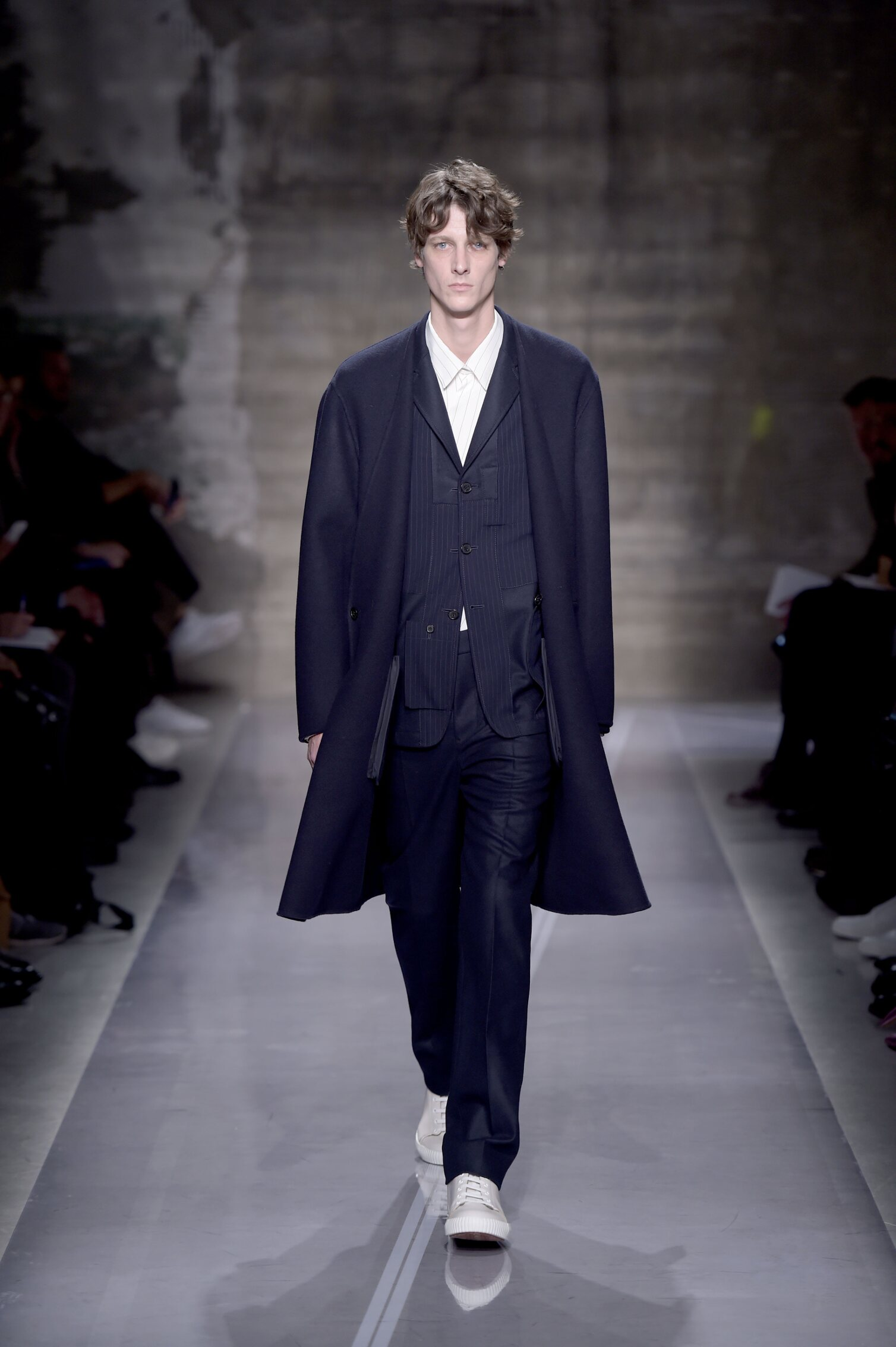 Catwalk Marni Man Fashion Show Winter 2016