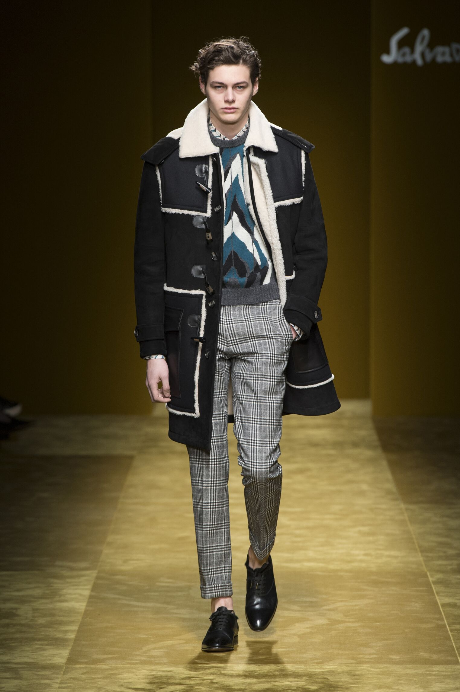 Catwalk Salvatore Ferragamo Winter 2016