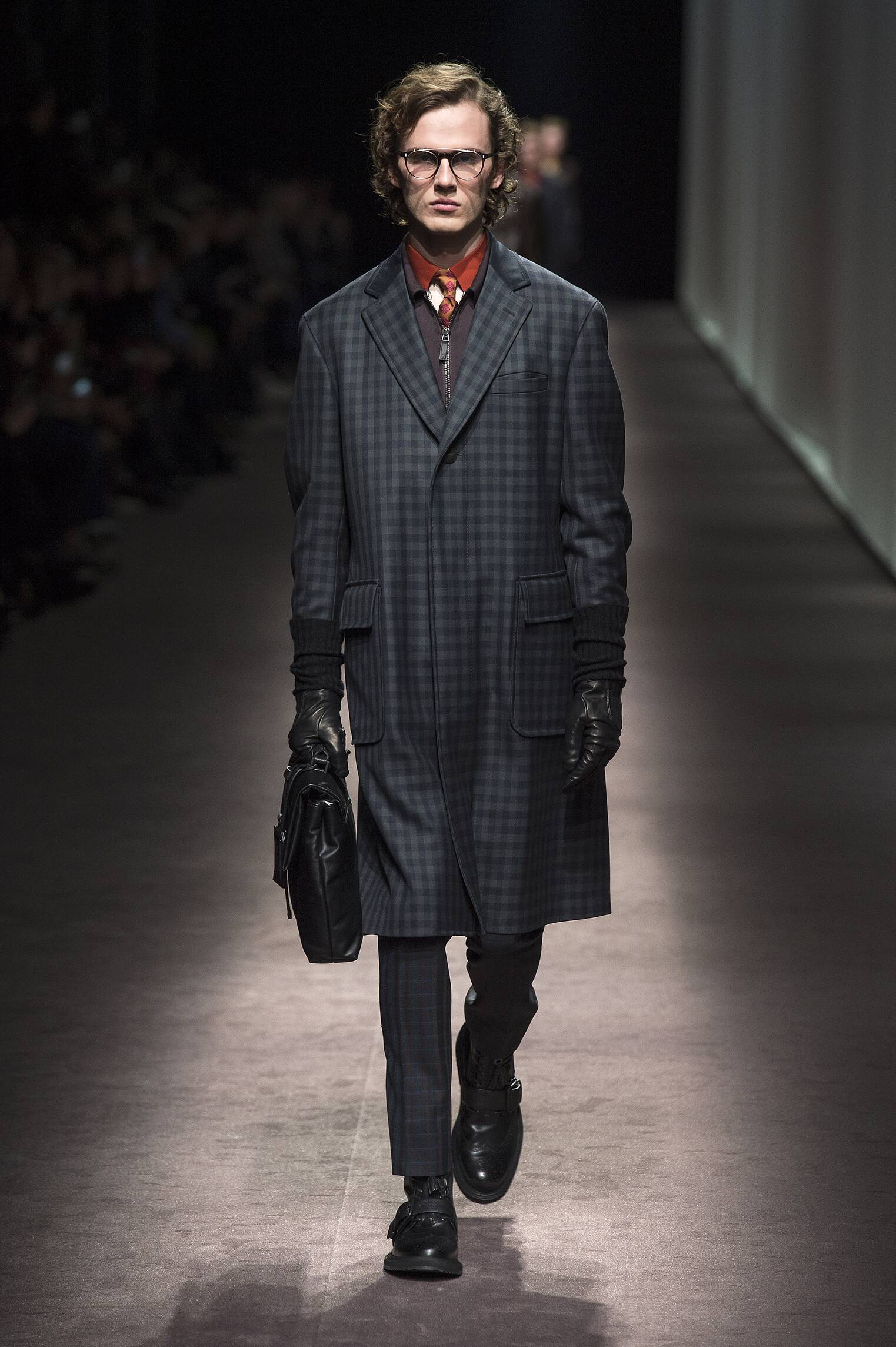 Fall 2016-17 Man Fashion Show Canali