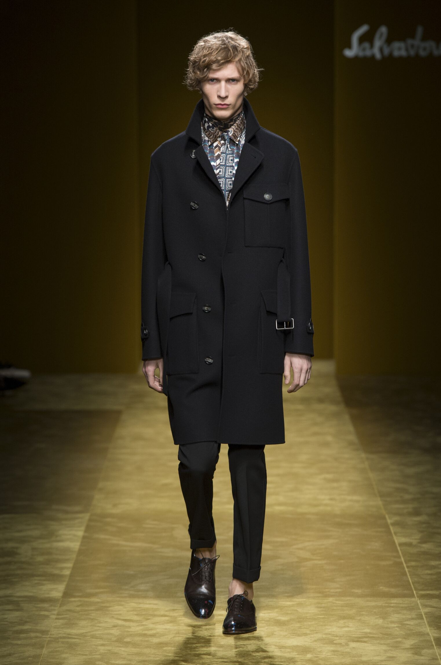 Fall 2016-17 Man Fashion Show Salvatore Ferragamo