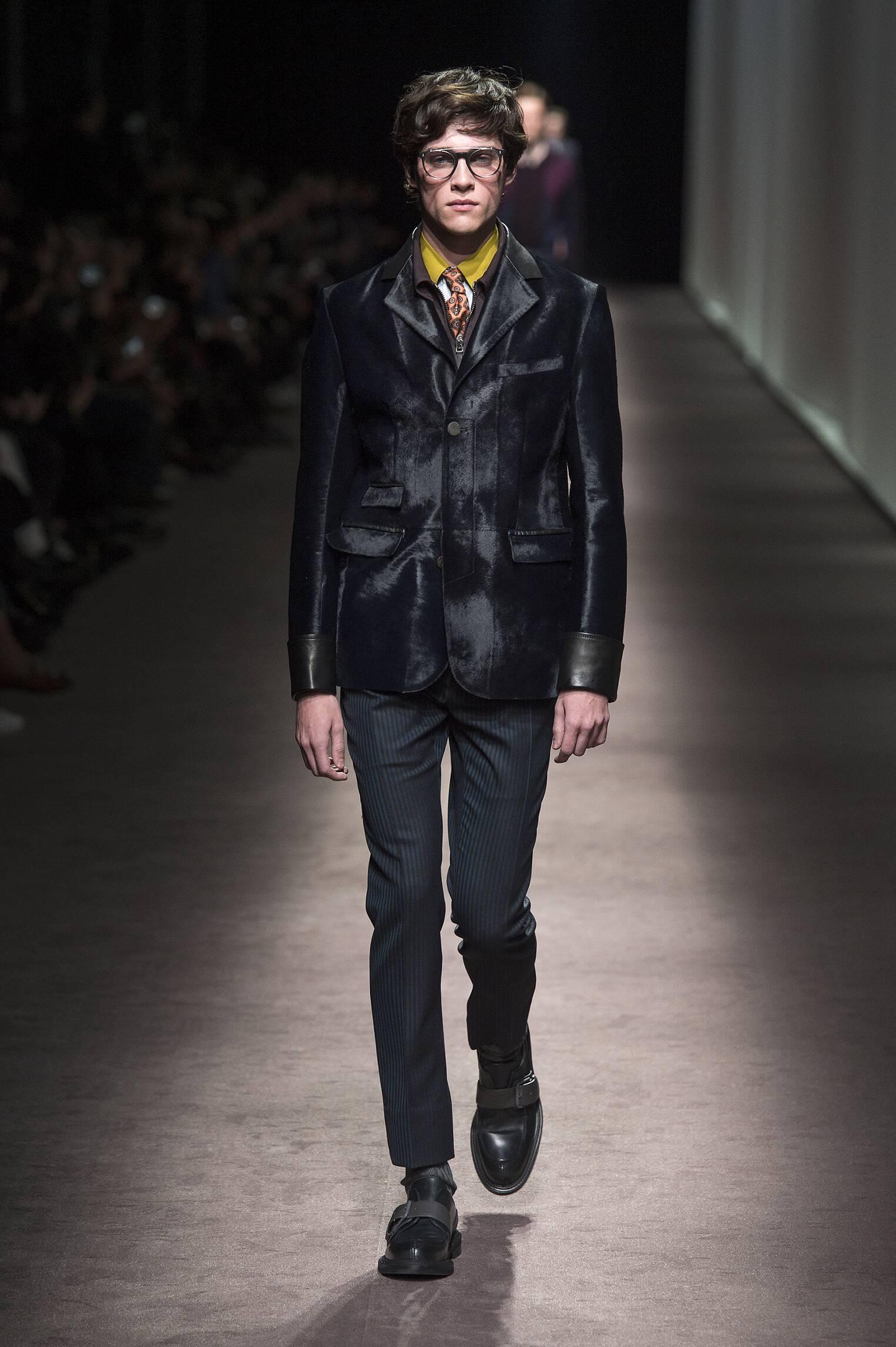 Fall Winter 2016 Man Milan Canali Collection
