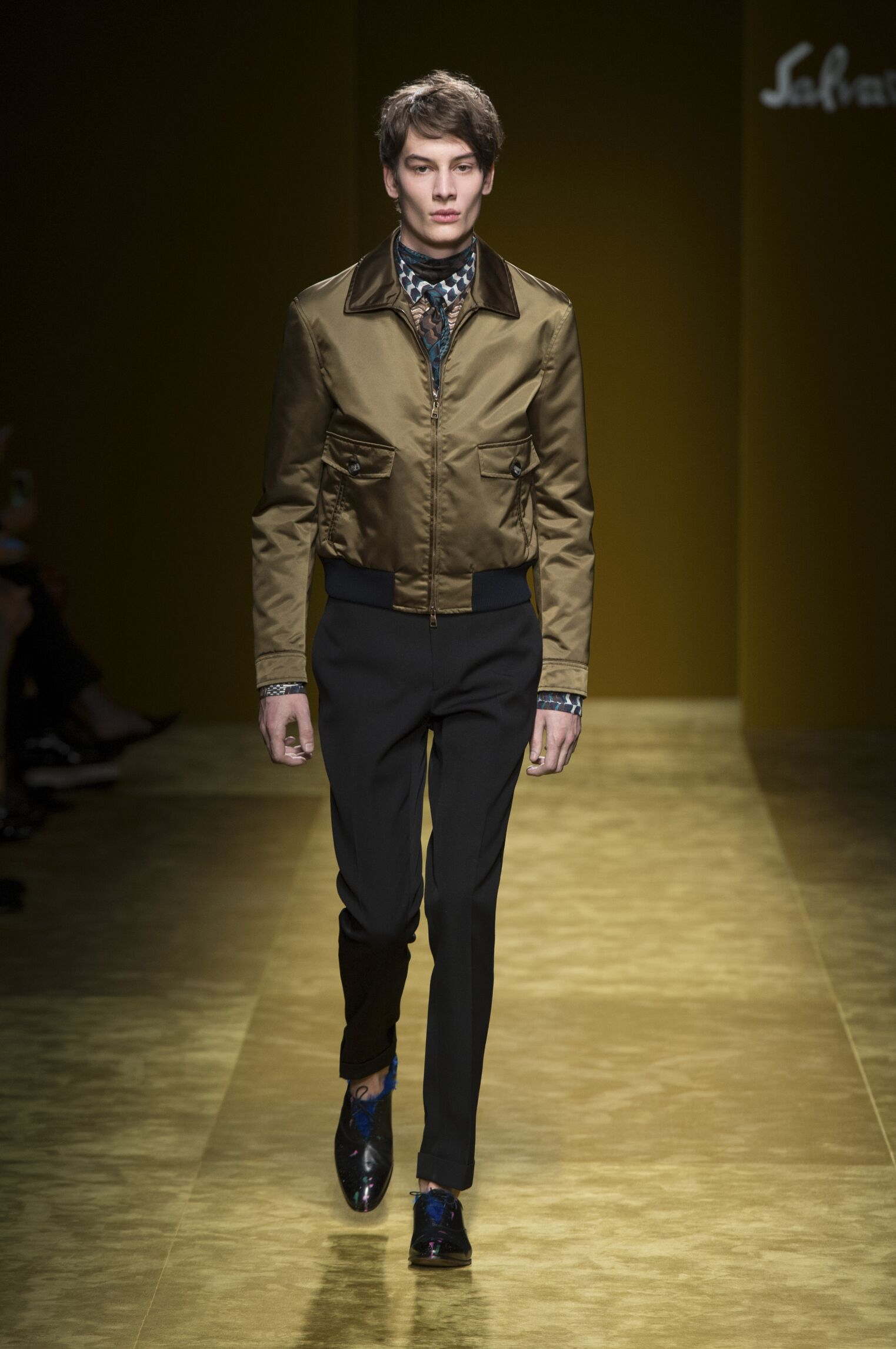 Fall Winter 2016 Man Milan Salvatore Ferragamo Collection