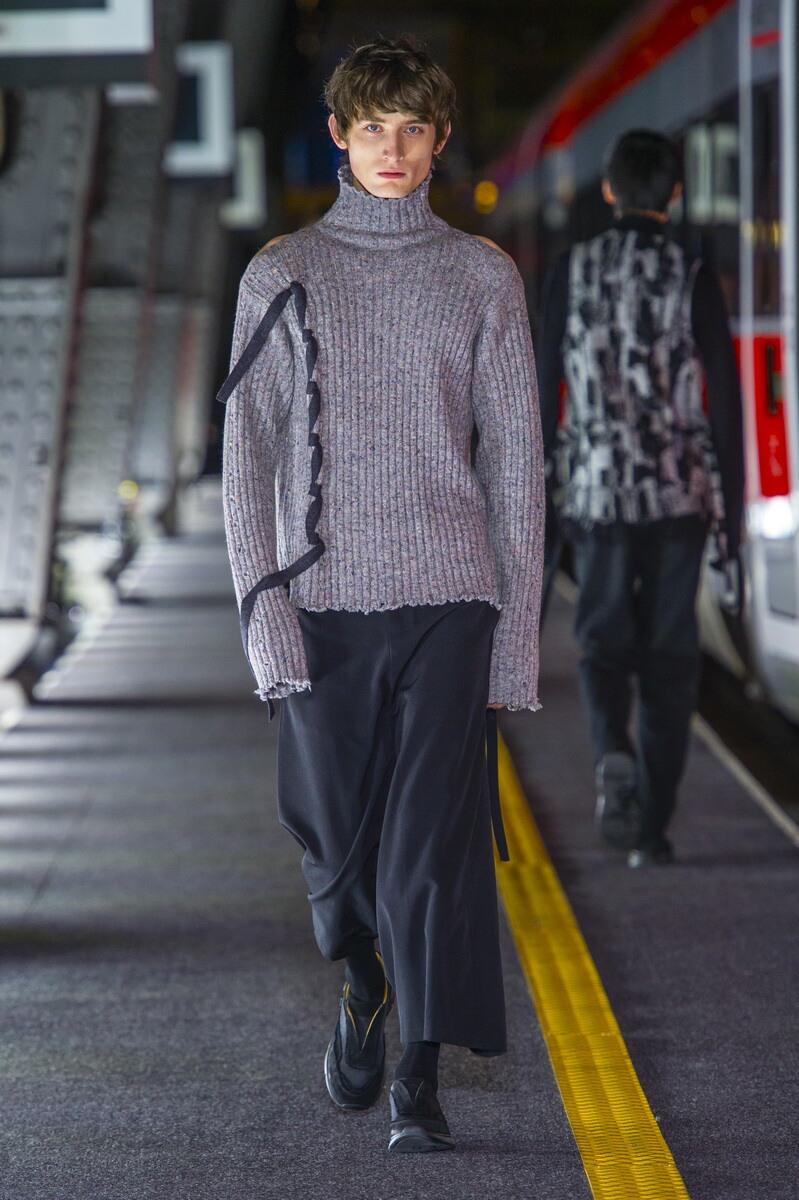 Fashion Man Model Damir Doma Catwalk