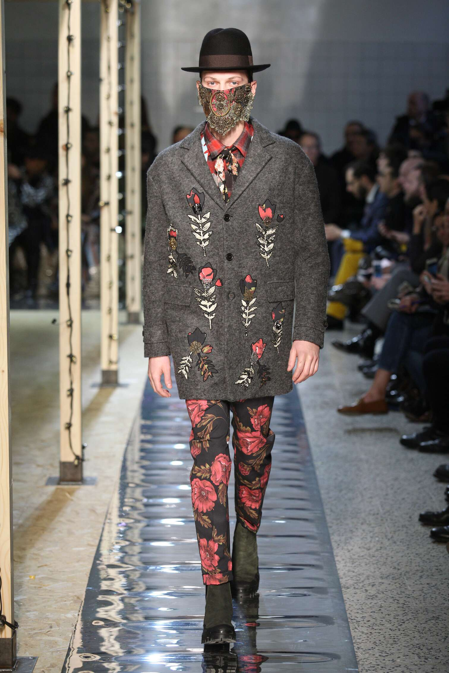 Menswear Winter Antonio Marras 2016