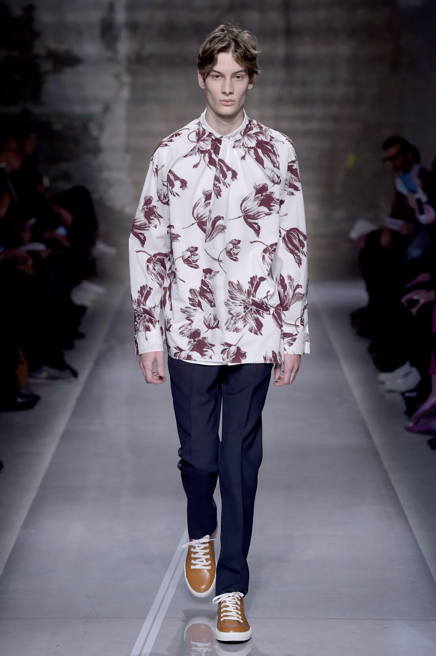 Model Fashion Show Marni