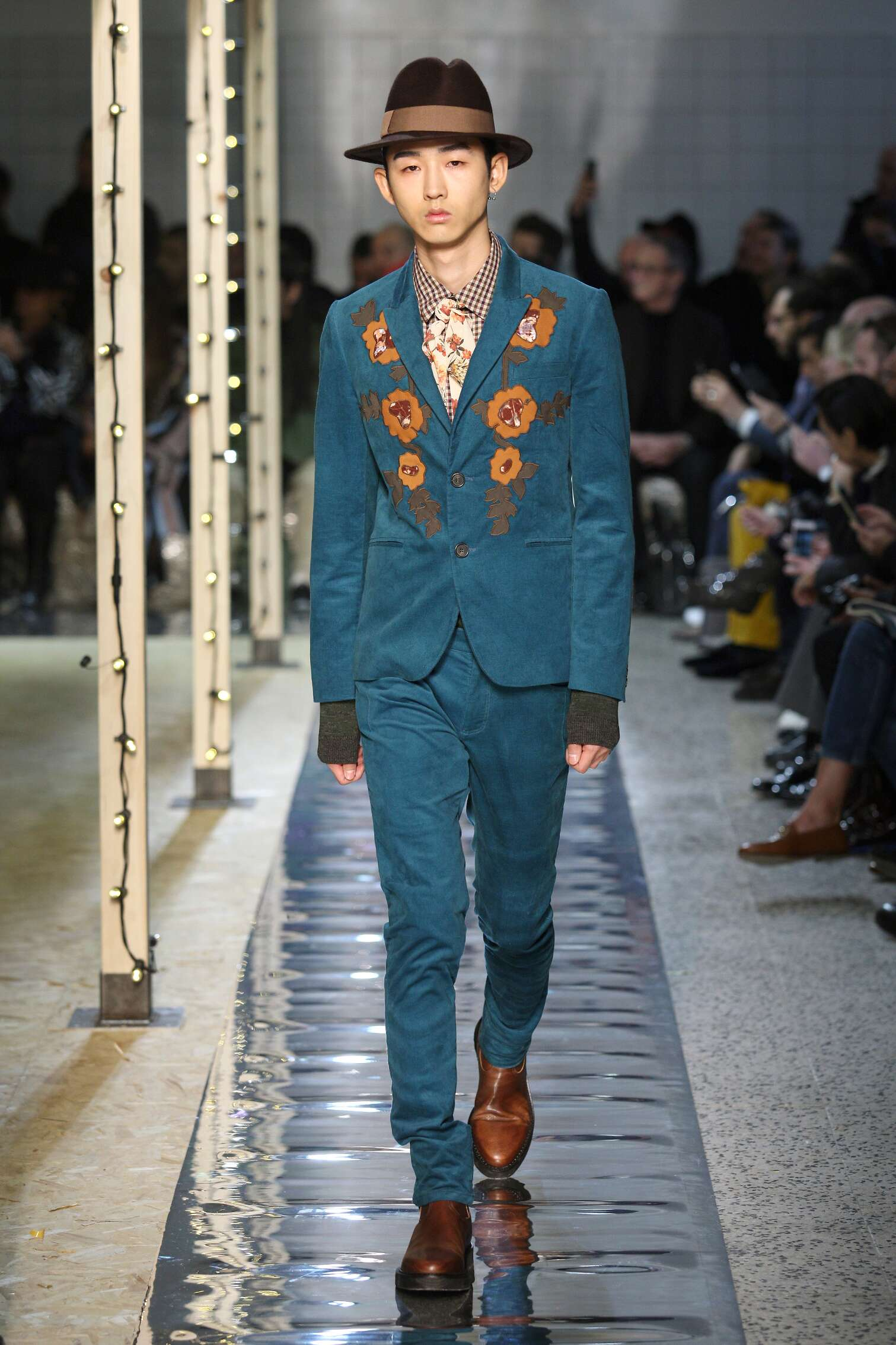 Runway Antonio Marras Fall Winter 2016 Men's Collection Milan Fashion Week