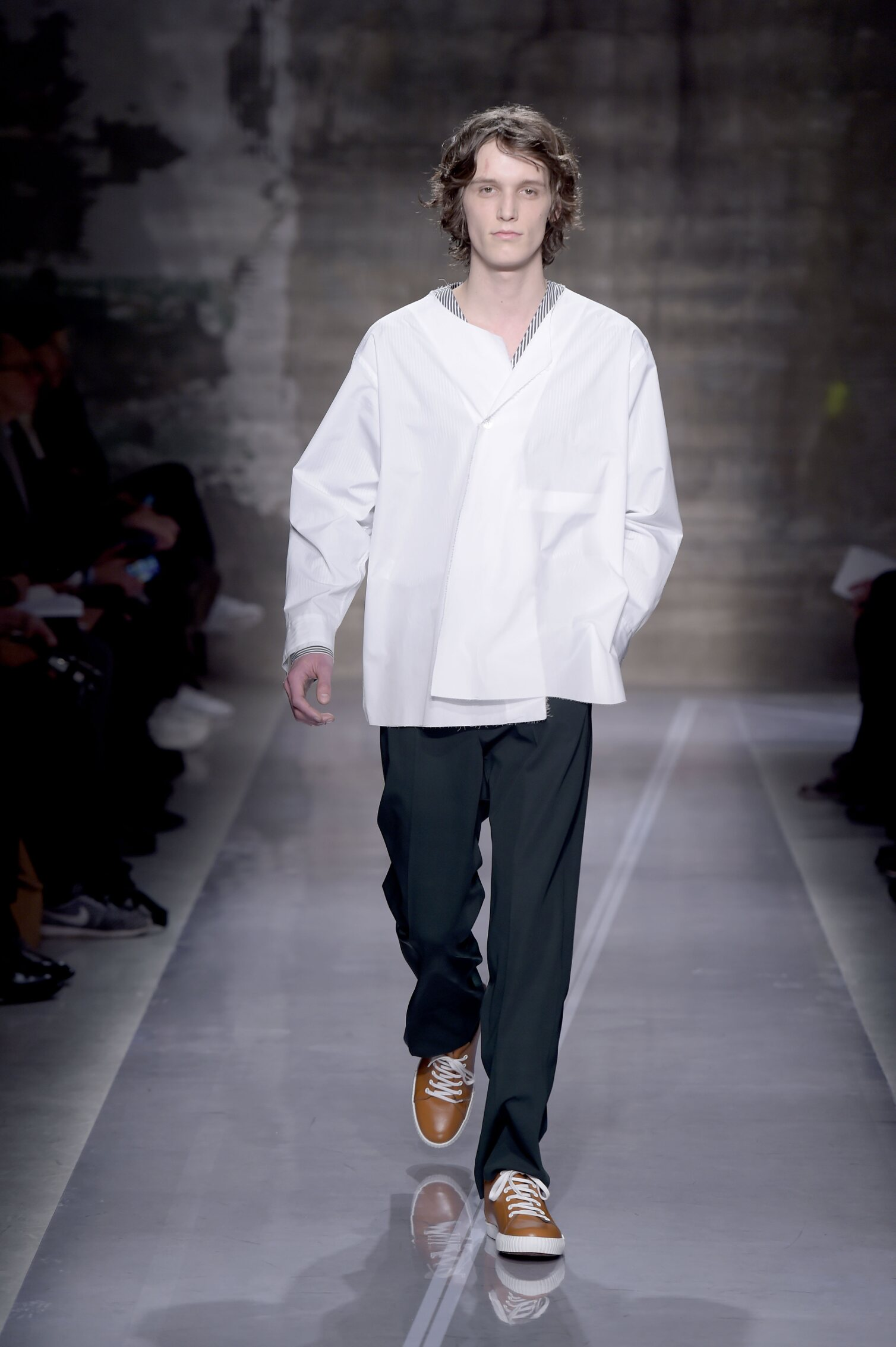 Runway Marni Fall Winter 2016 Men's Collection Milan Fashion Week