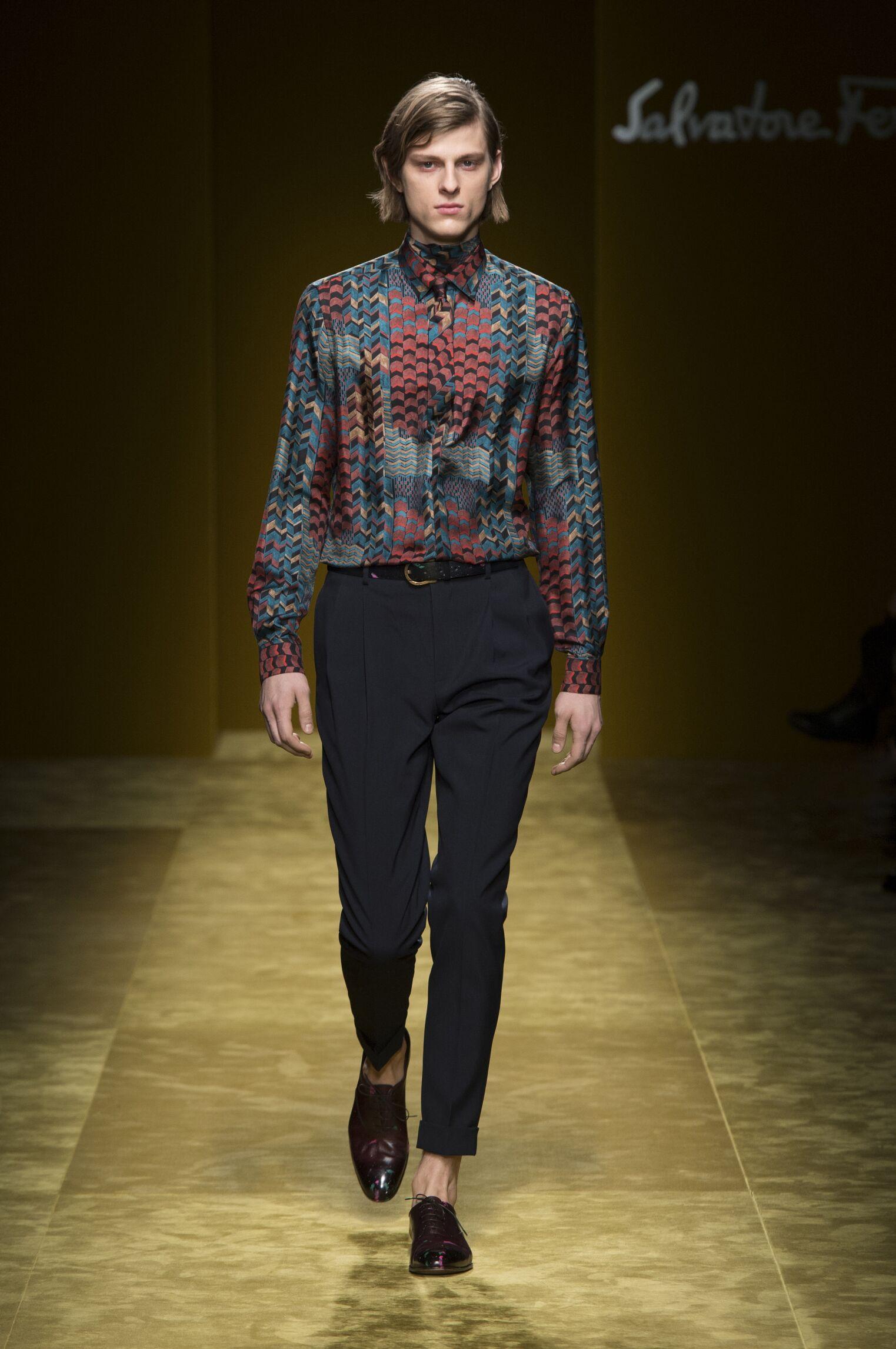 Salvatore Ferragamo FW 2016 Menswear