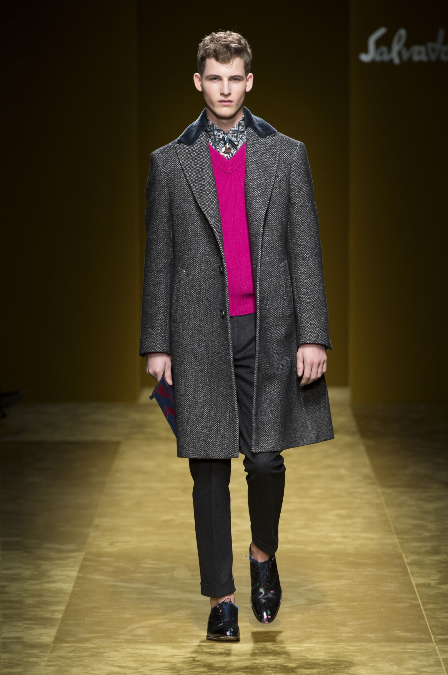Salvatore Ferragamo Fall 2016 Catwalk