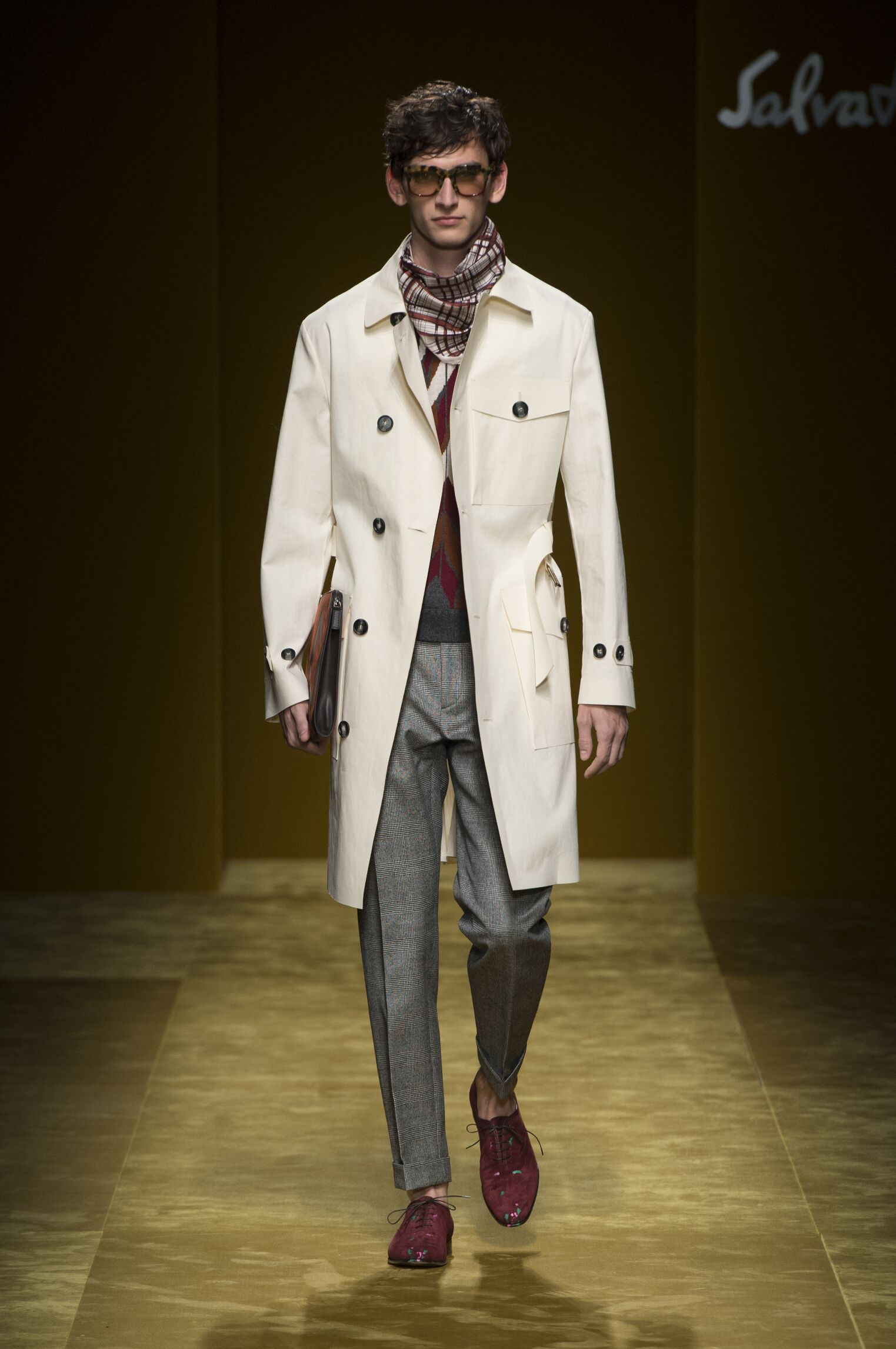 Salvatore Ferragamo Fashion Show FW 2016-17