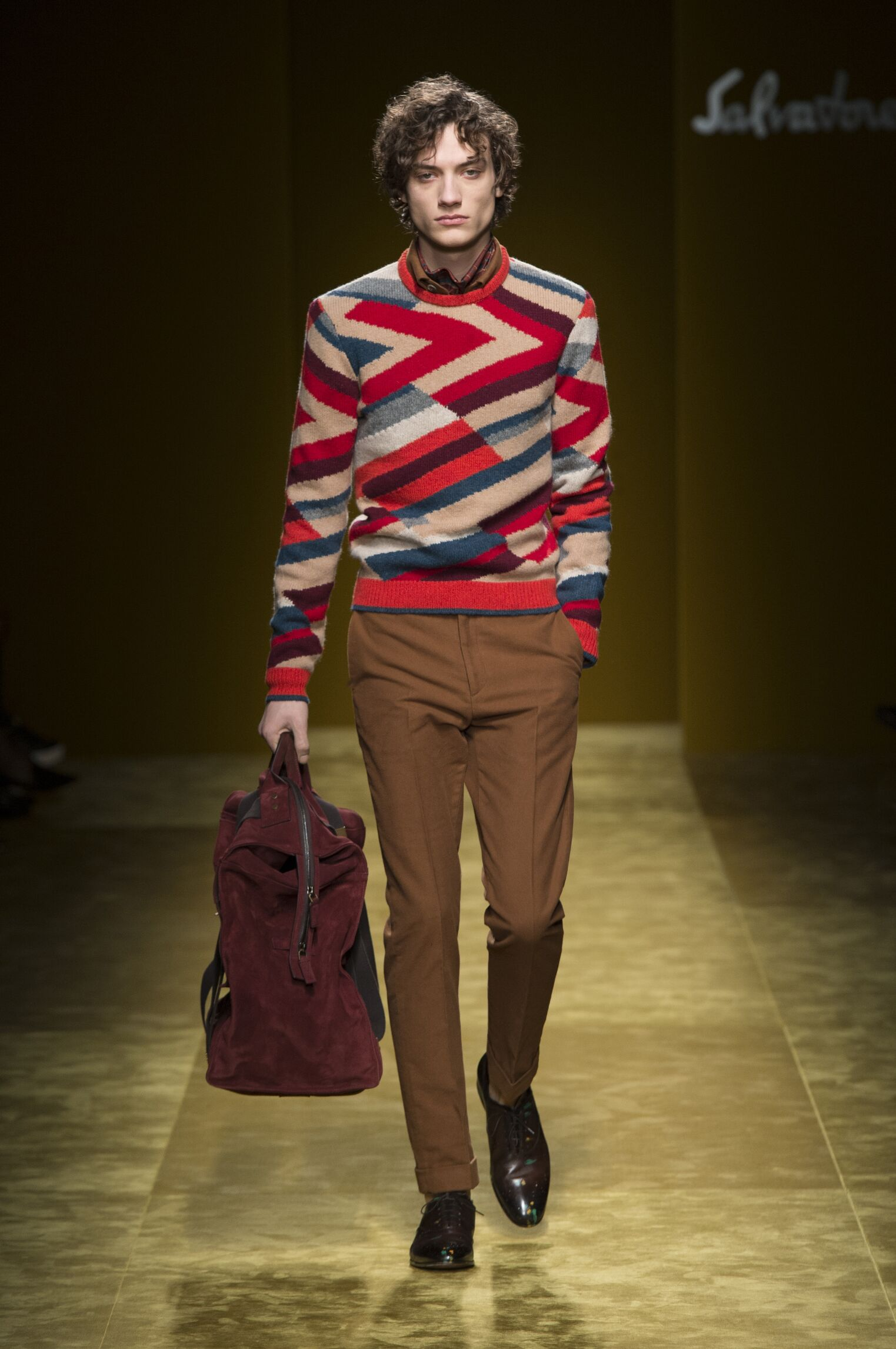 Salvatore Ferragamo Men's Collection 2016-2017
