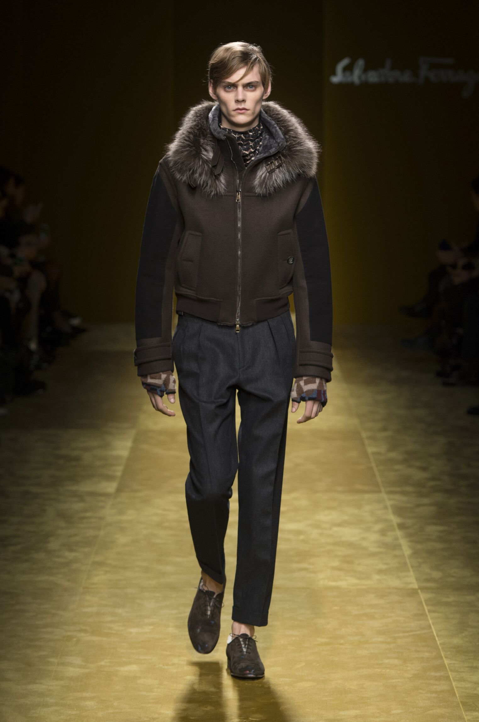 Salvatore Ferragamo Milan Fashion Week Menswear