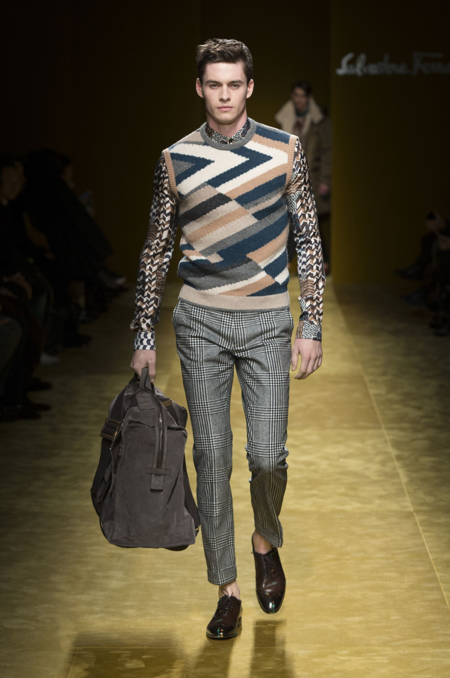 Salvatore Ferragamo Winter 2016-2017 Catwalk