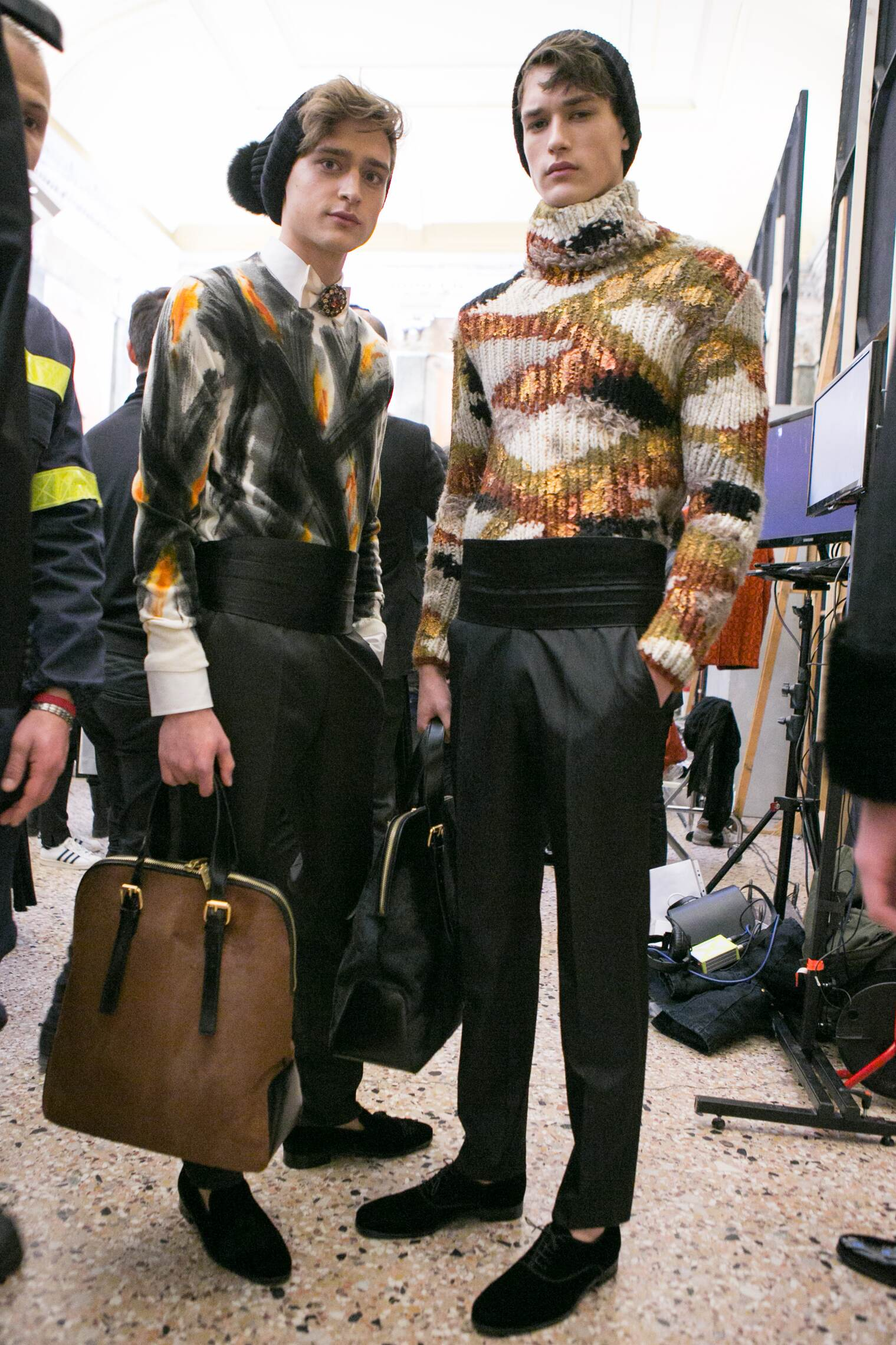 Backstage Daks Fashion Show 2016-17
