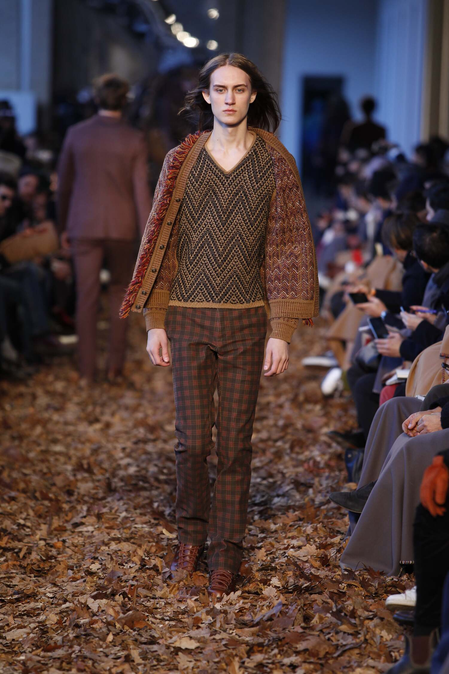Catwalk Missoni Man Fashion Show Winter 2016