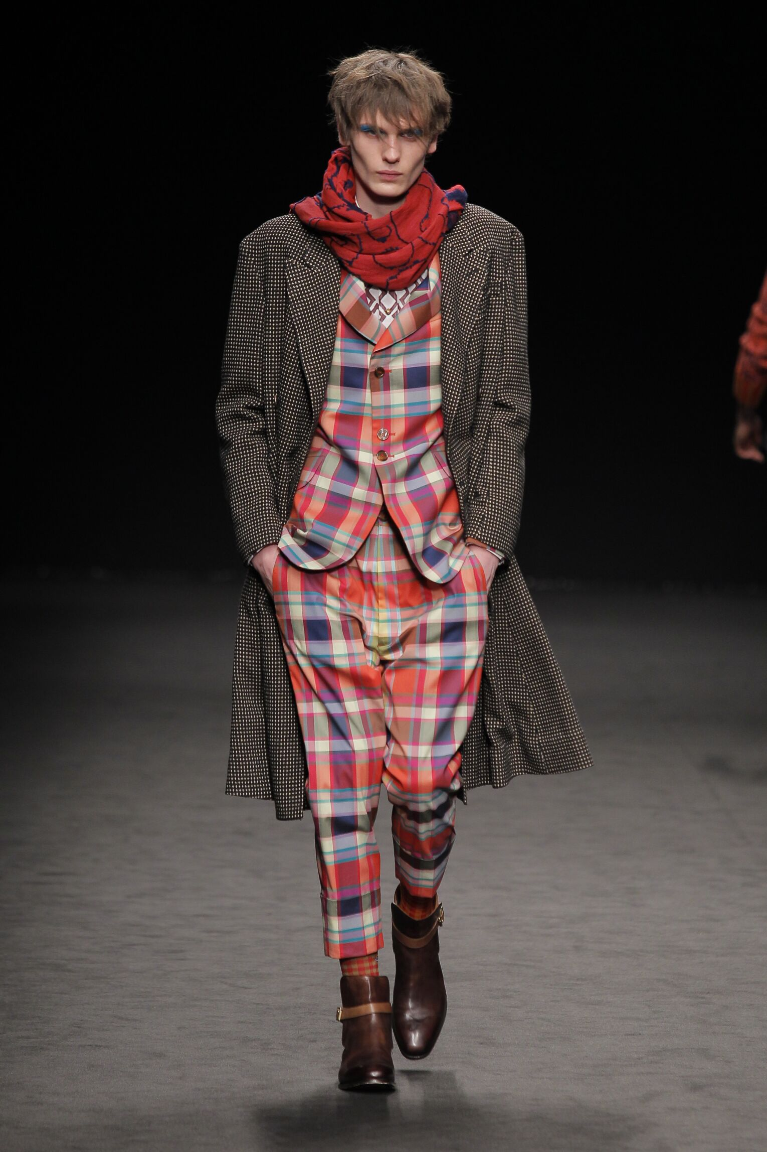 Catwalk Vivienne Westwood Man Fashion Show Winter 2016