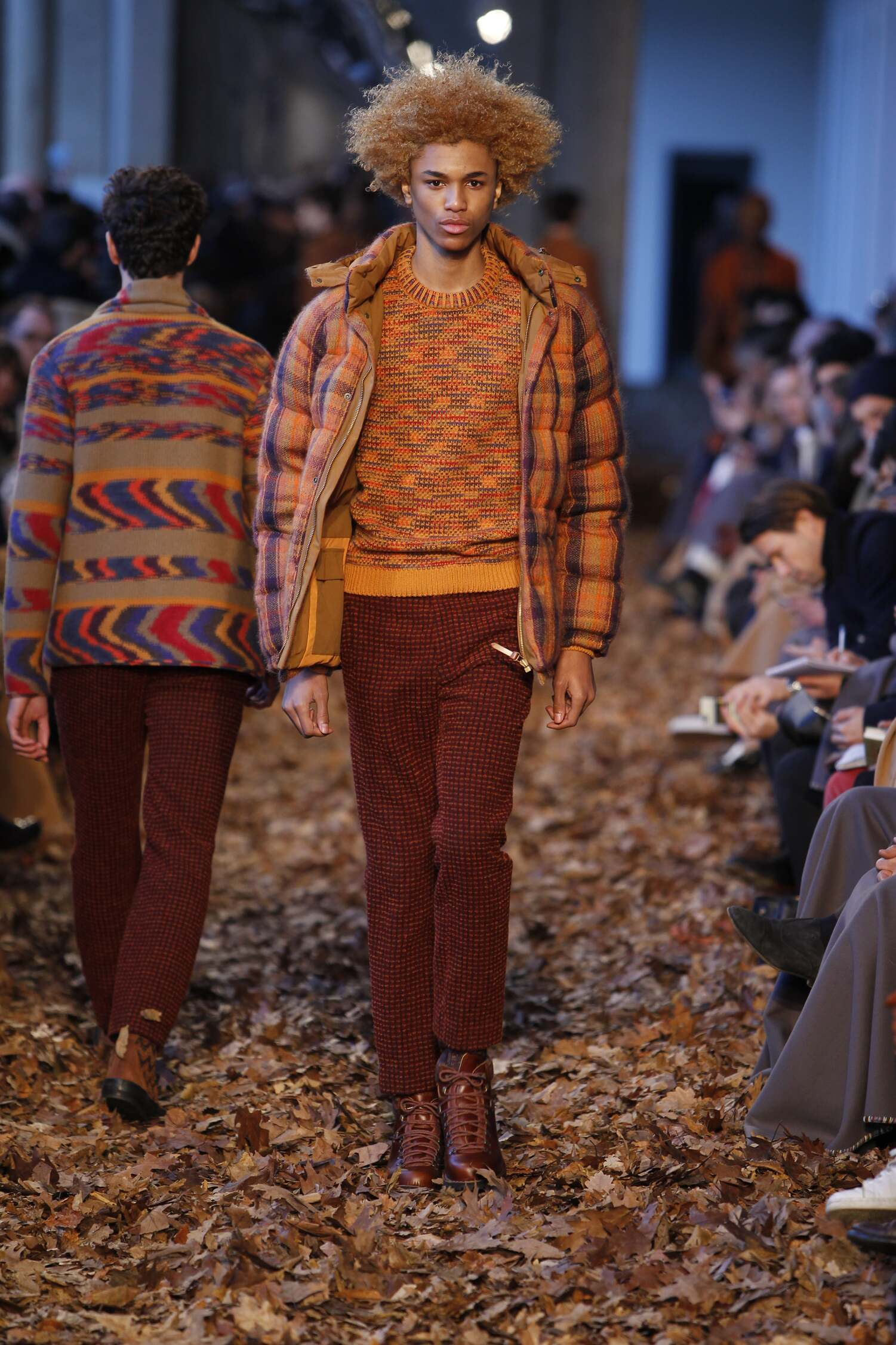 Fall Winter 2016 Man Milan Missoni Collection