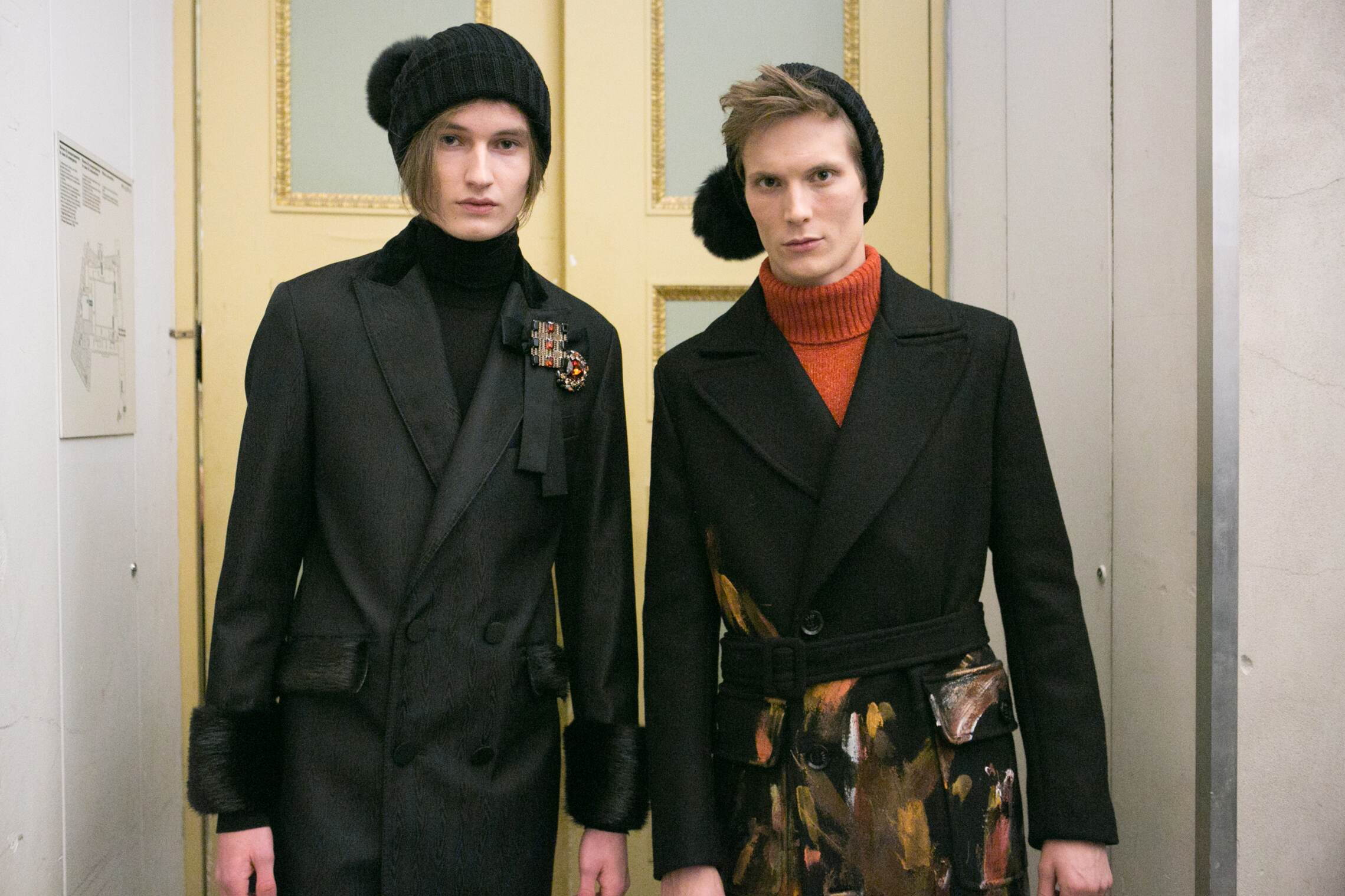 Fashion Models Daks Backstage