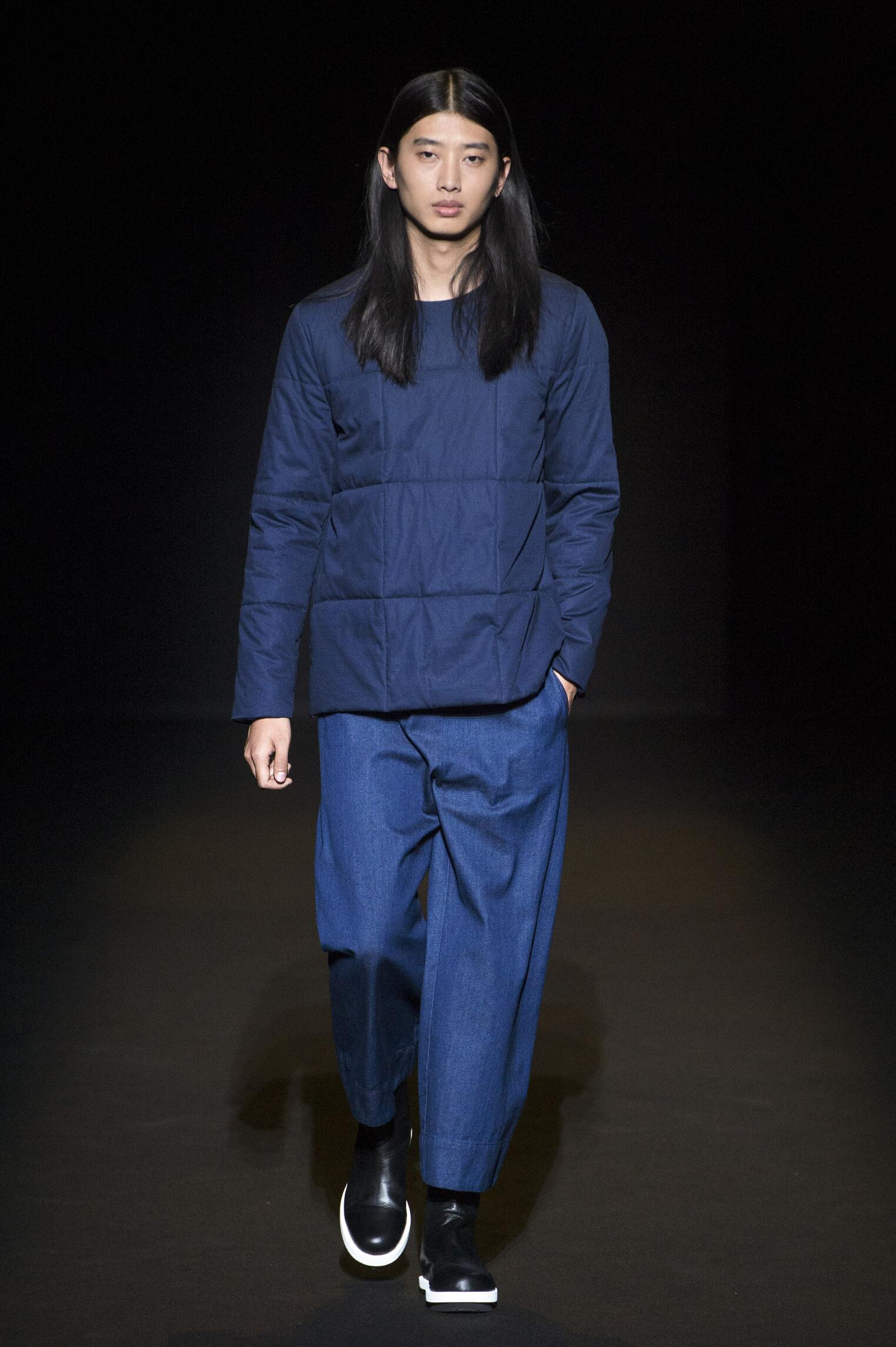 Lucio Vanotti Milan Fashion Week Menswear