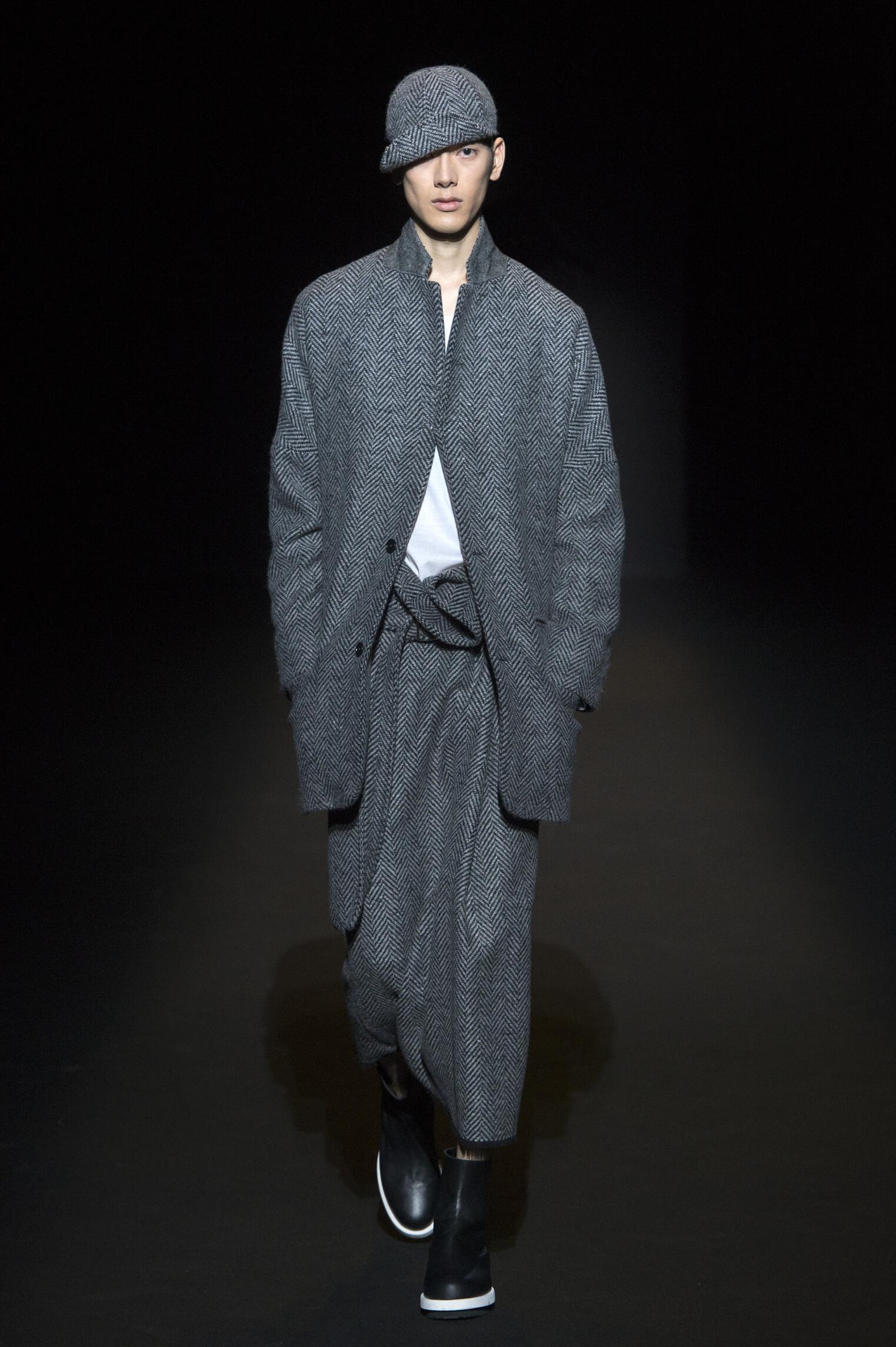 Model Fashion Show Lucio Vanotti