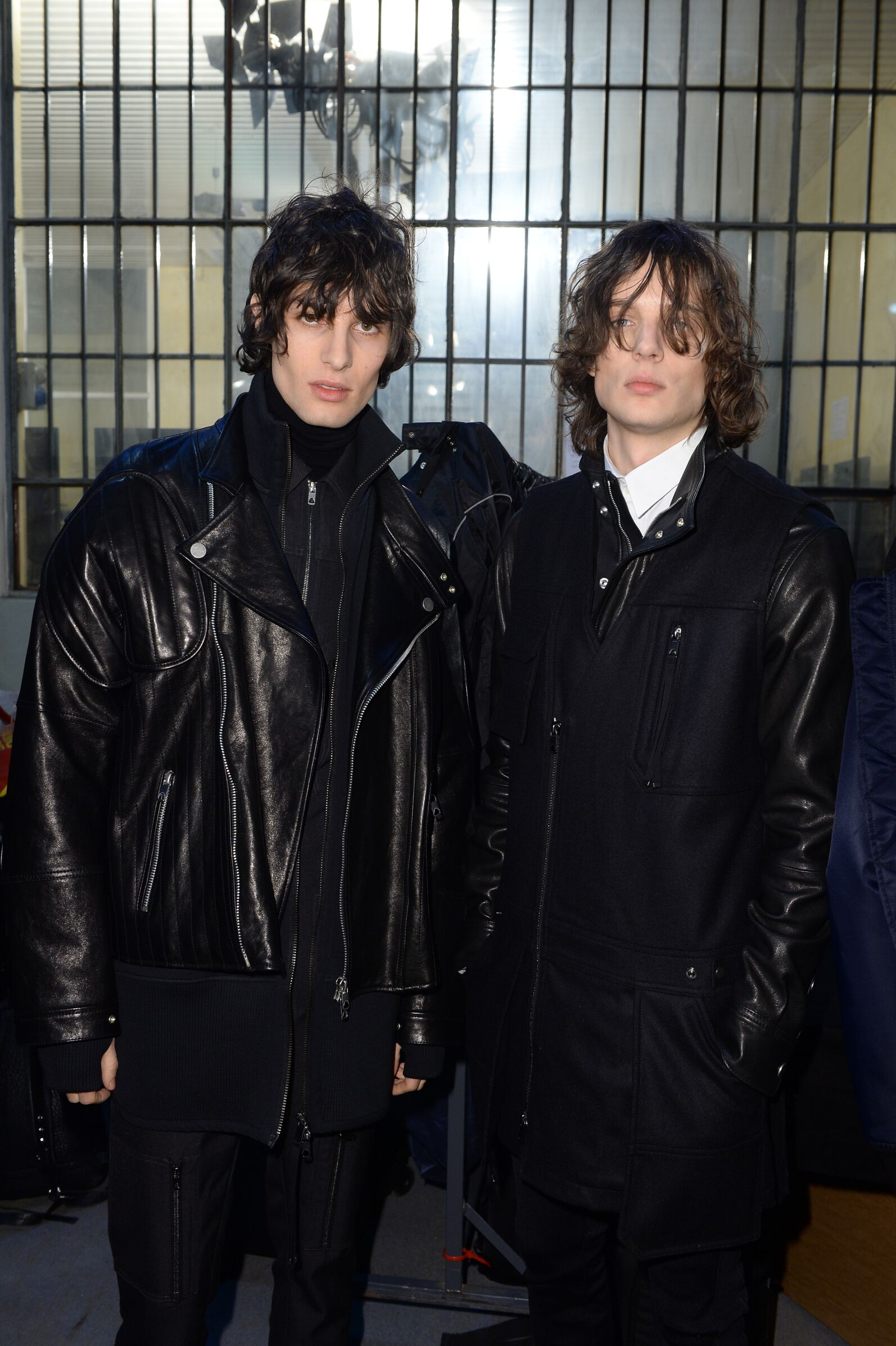Models Backstage Diesel Black Gold Milan Fashion Week Men