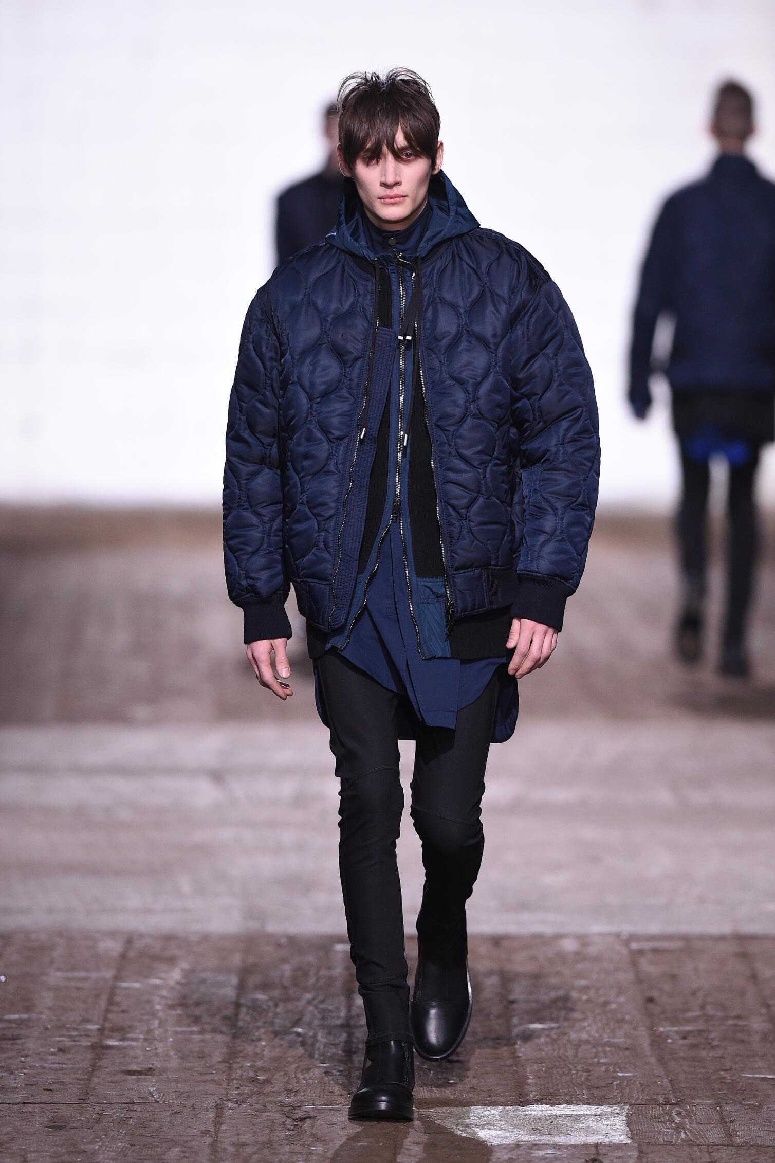 Runway Diesel Black Gold Fall Winter 2016 Men's Collection Milan Fashion Week