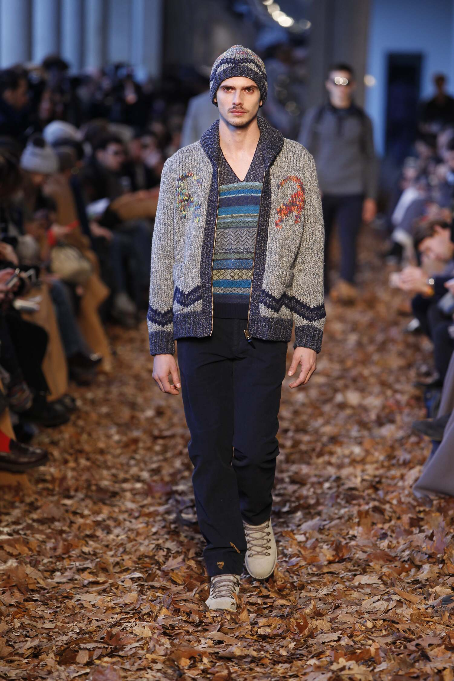 Runway Missoni Fall Winter 2016 Men's Collection Milan Fashion Week