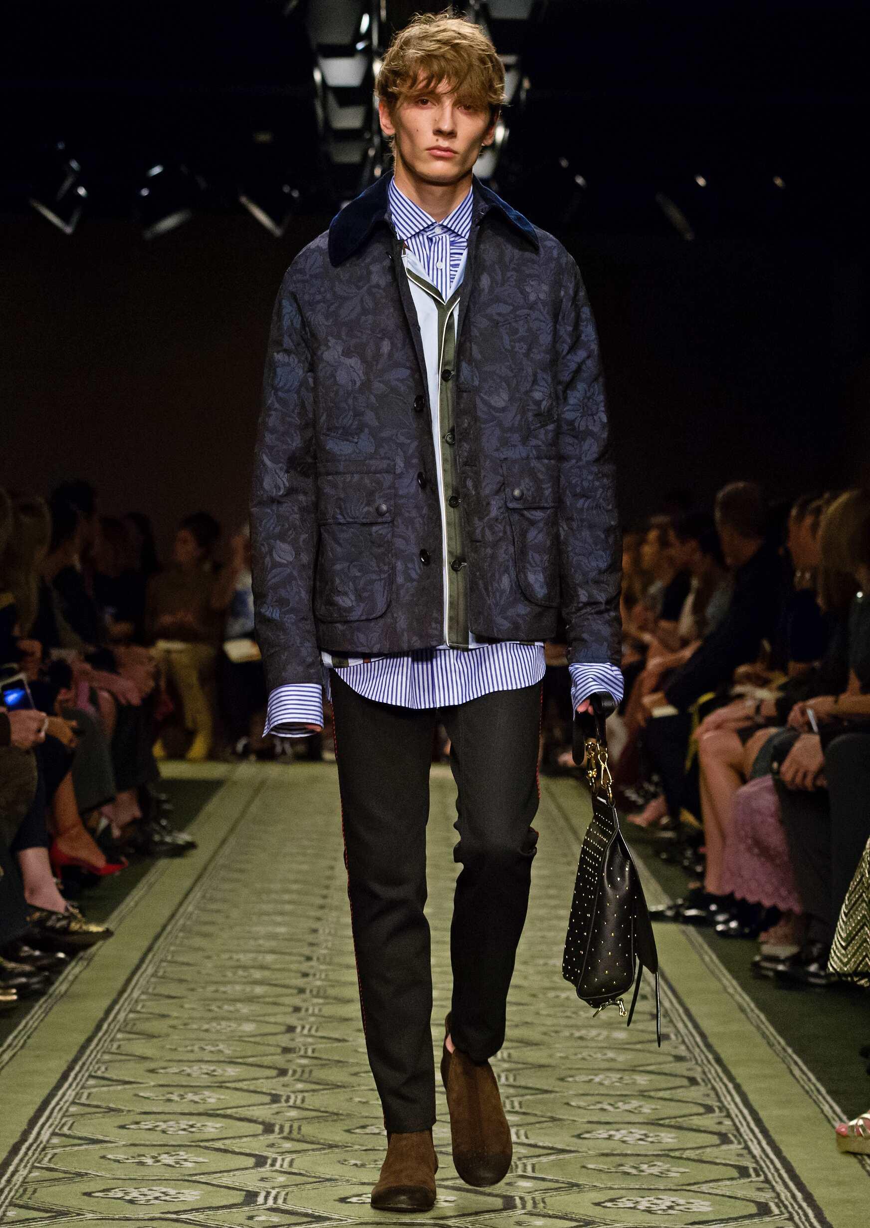 2016 Men Style Burberry London Fashion Week