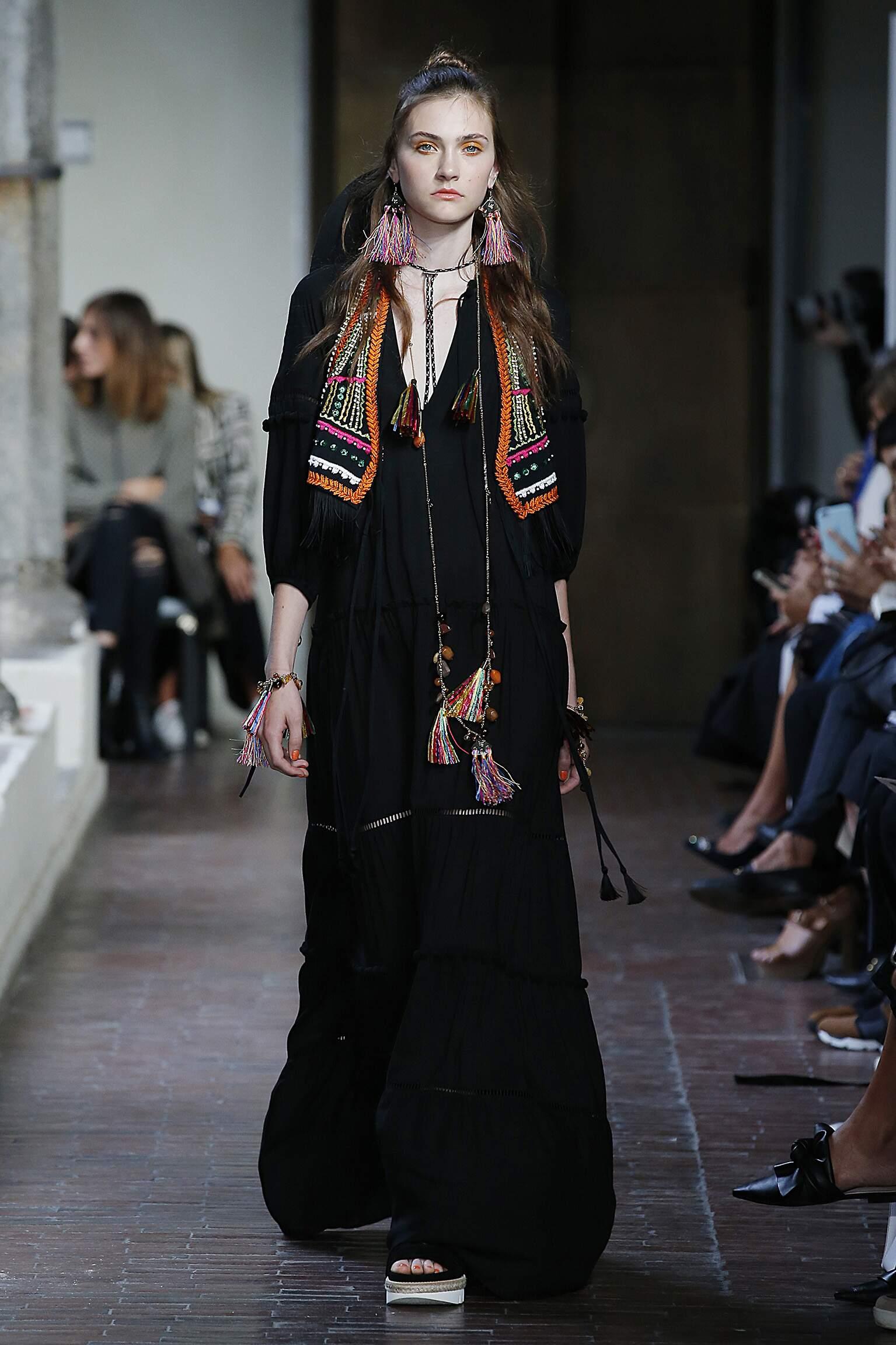 2017 Catwalk Blugirl Woman Fashion Show Summer