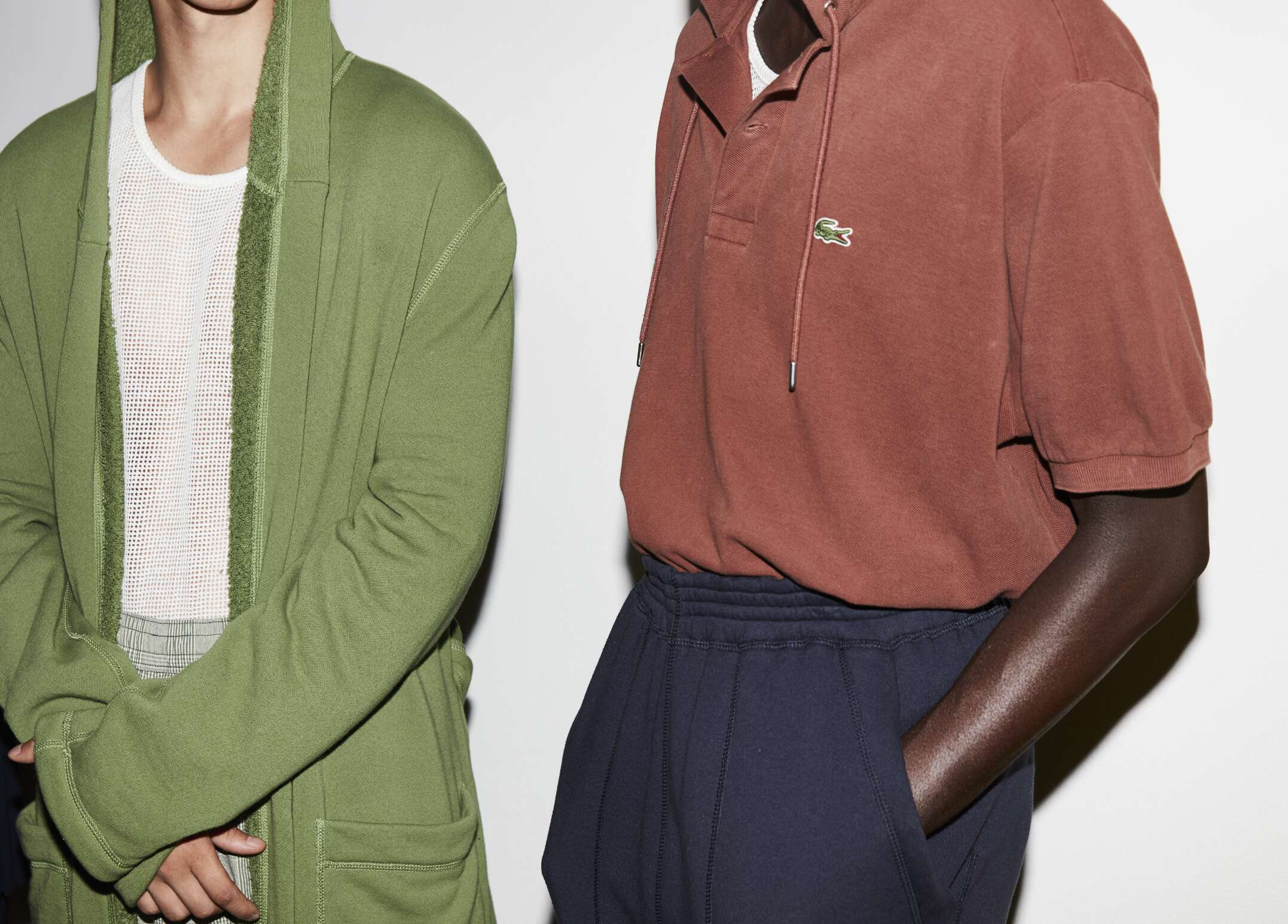 2017 Models Backstage Lacoste