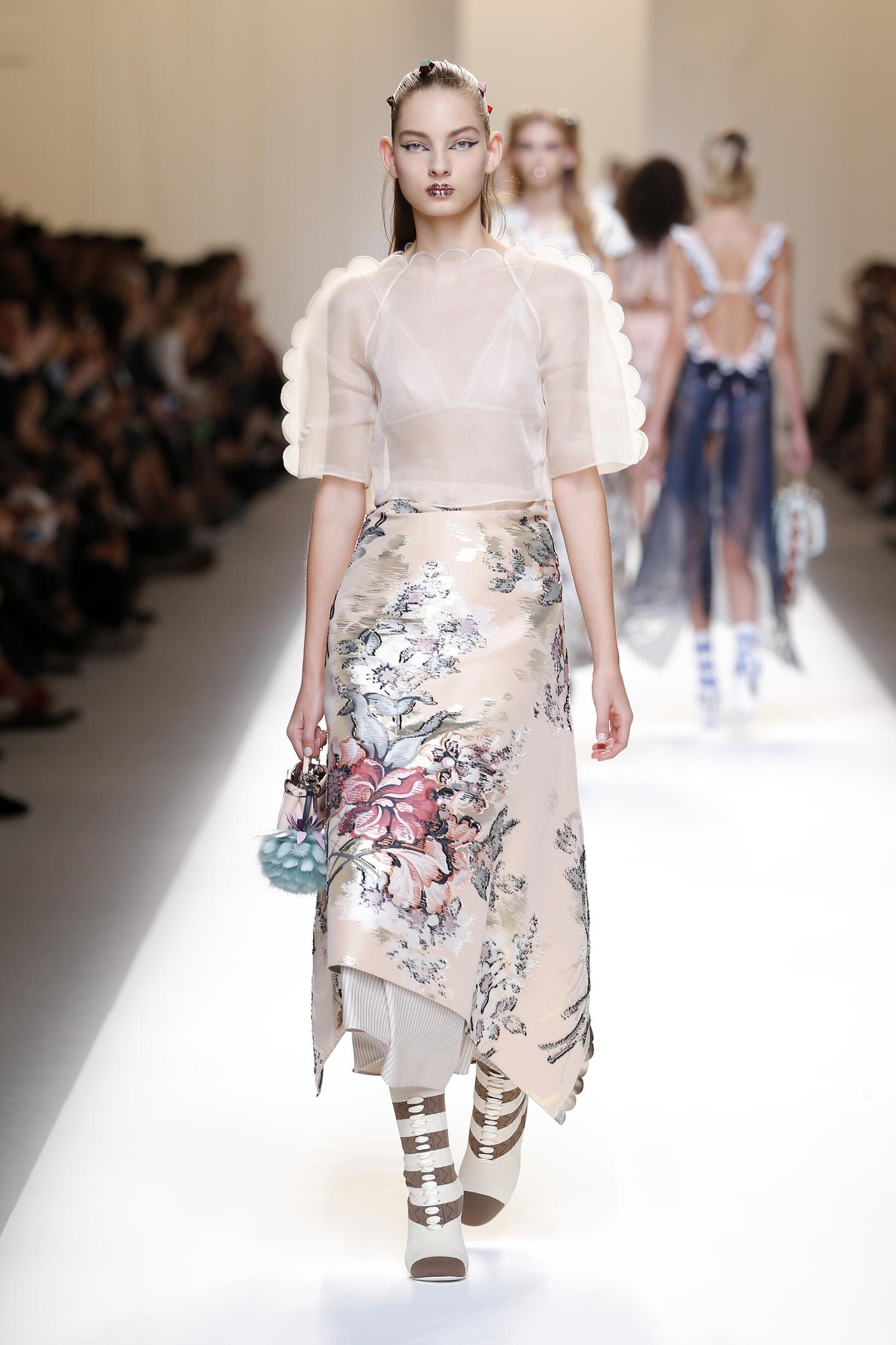2017 Woman Style Fendi