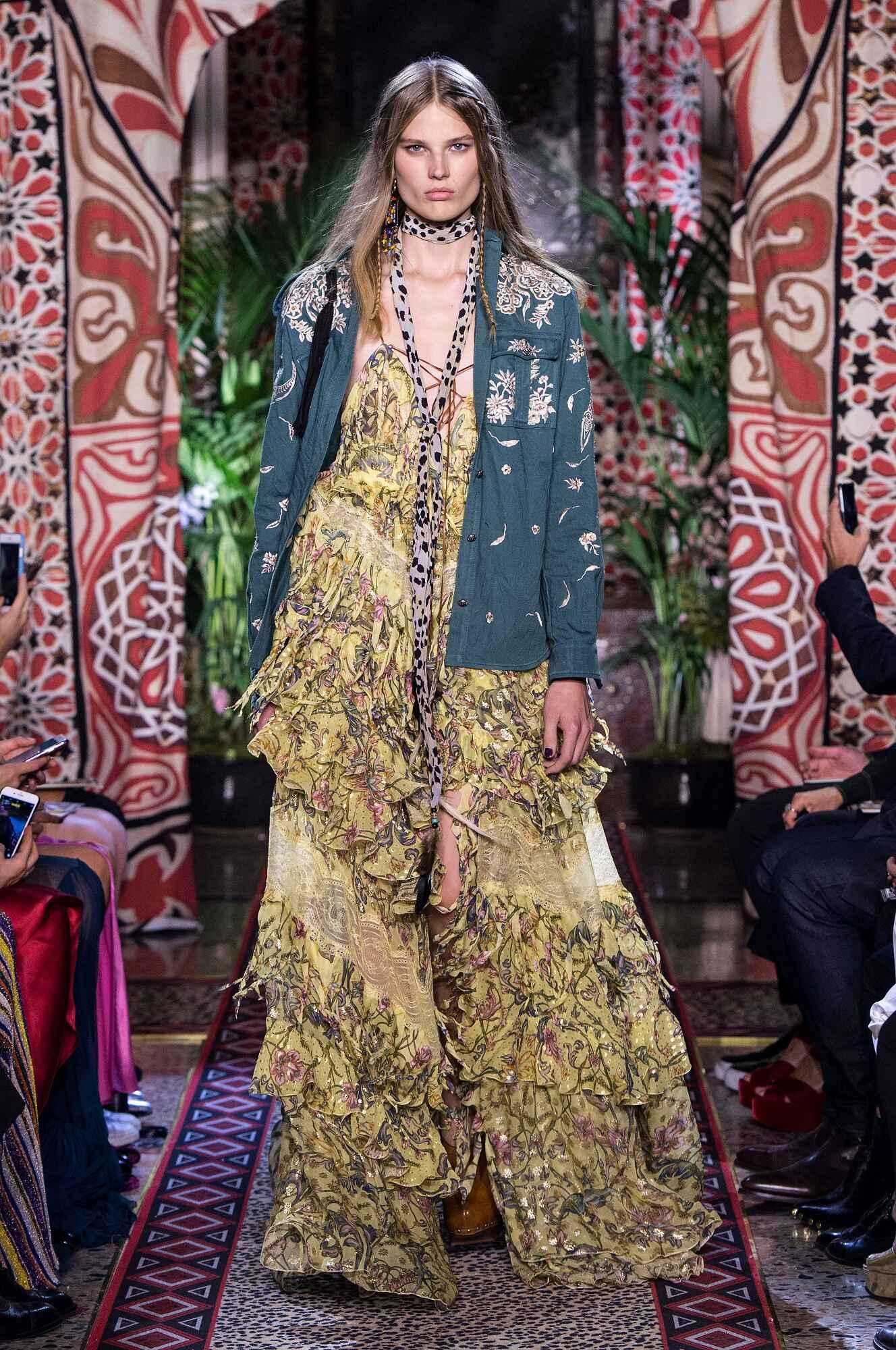2017 Woman Style Roberto Cavalli