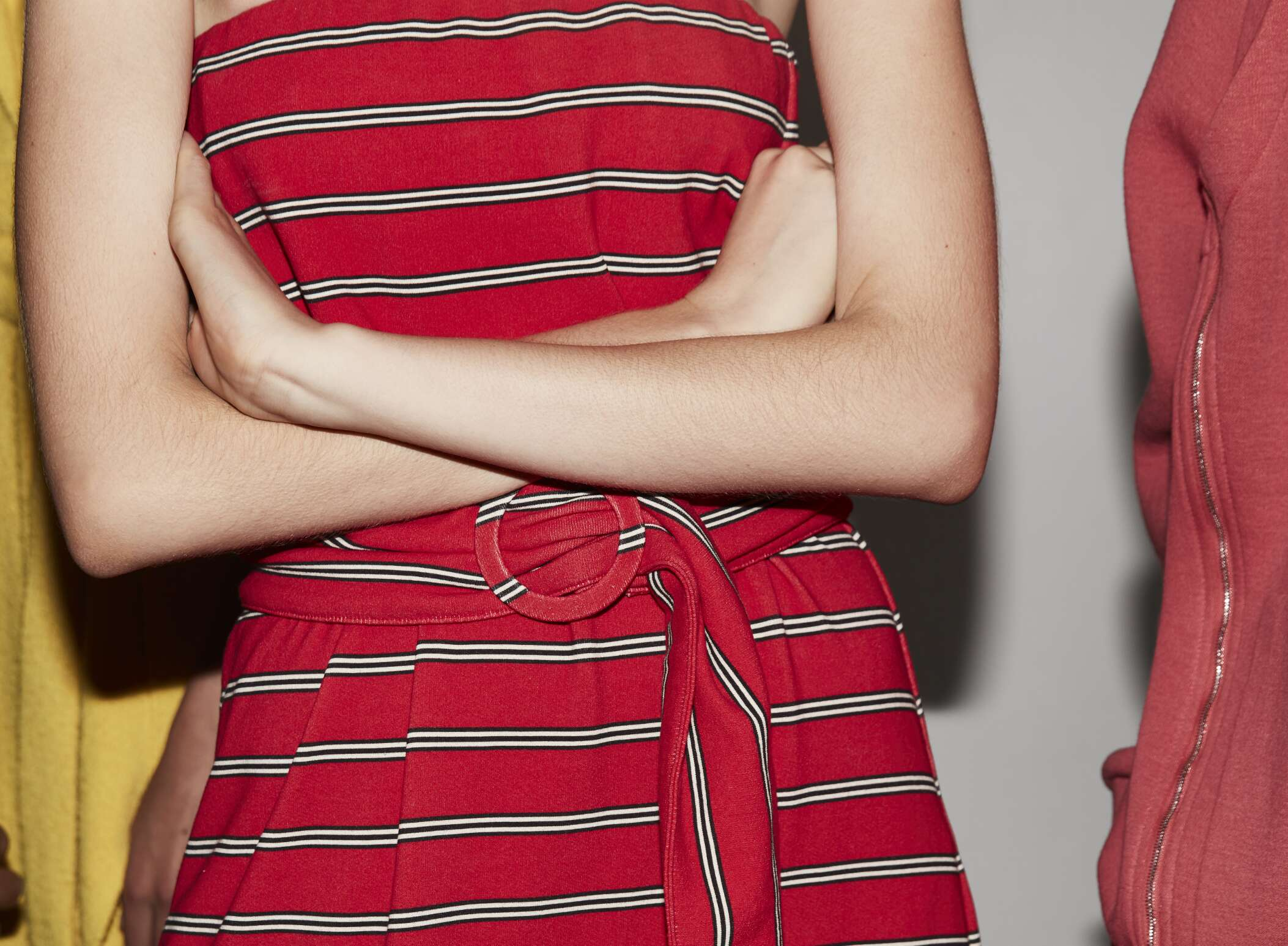 Backstage Lacoste Fashion Show