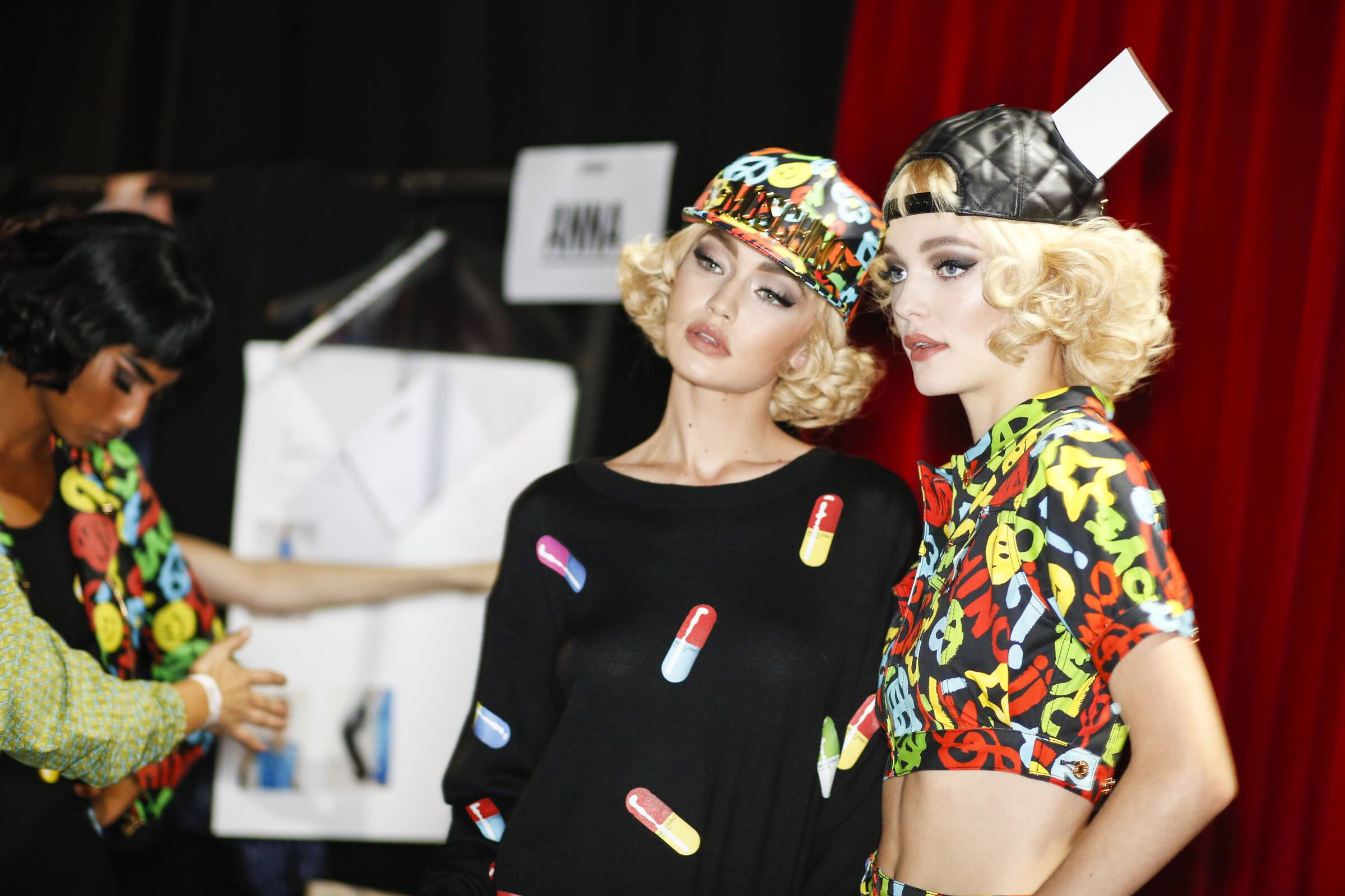 Backstage Moschino