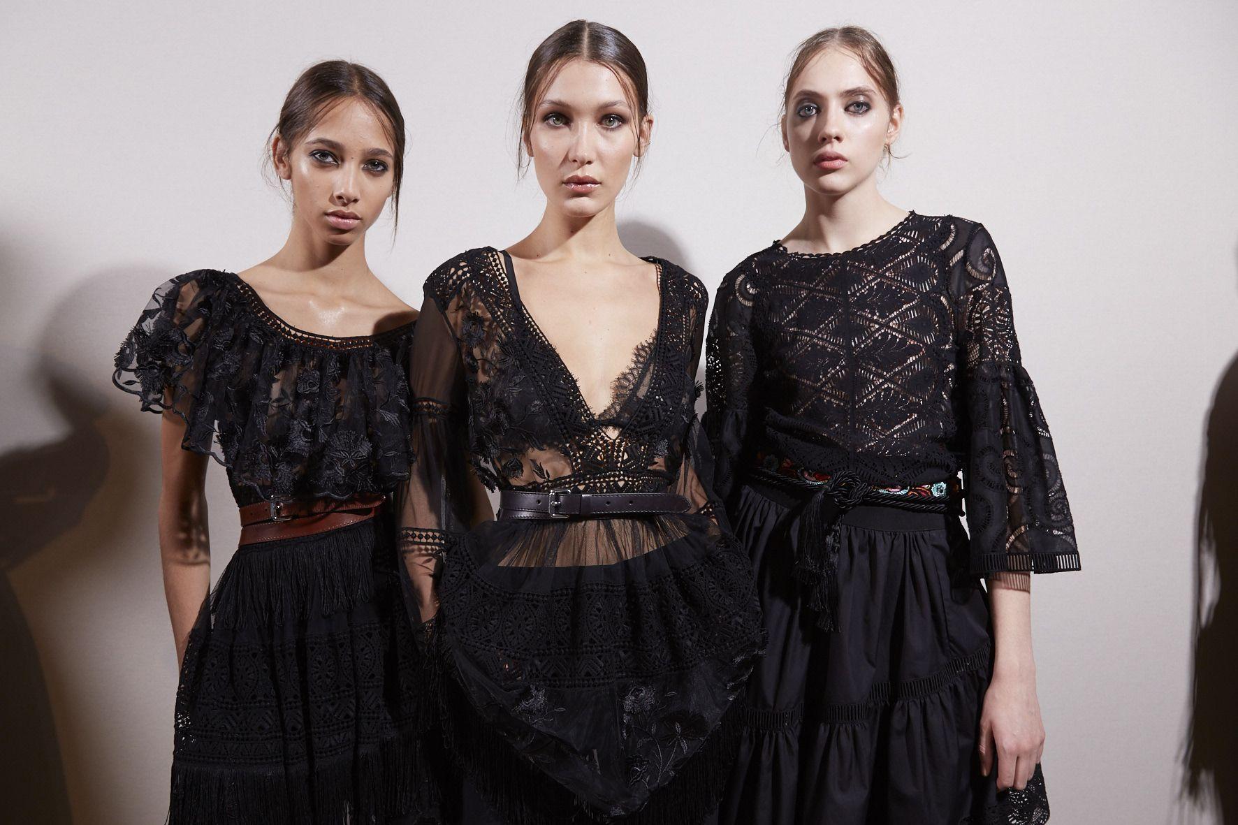 Backstage Womenwear Alberta Ferretti Model