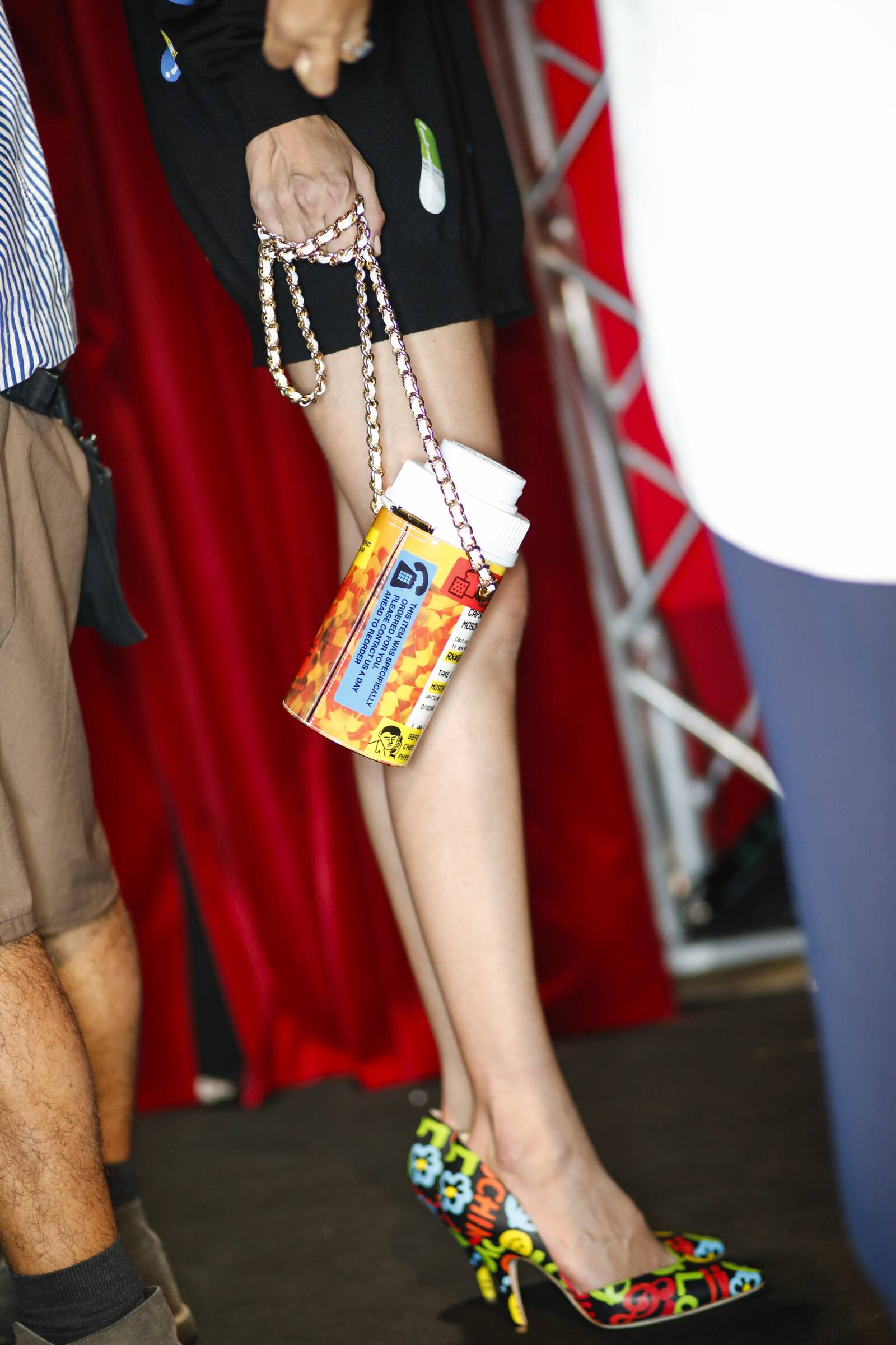 Bag Moschino Backstage Womenswear Milan Fashion Week
