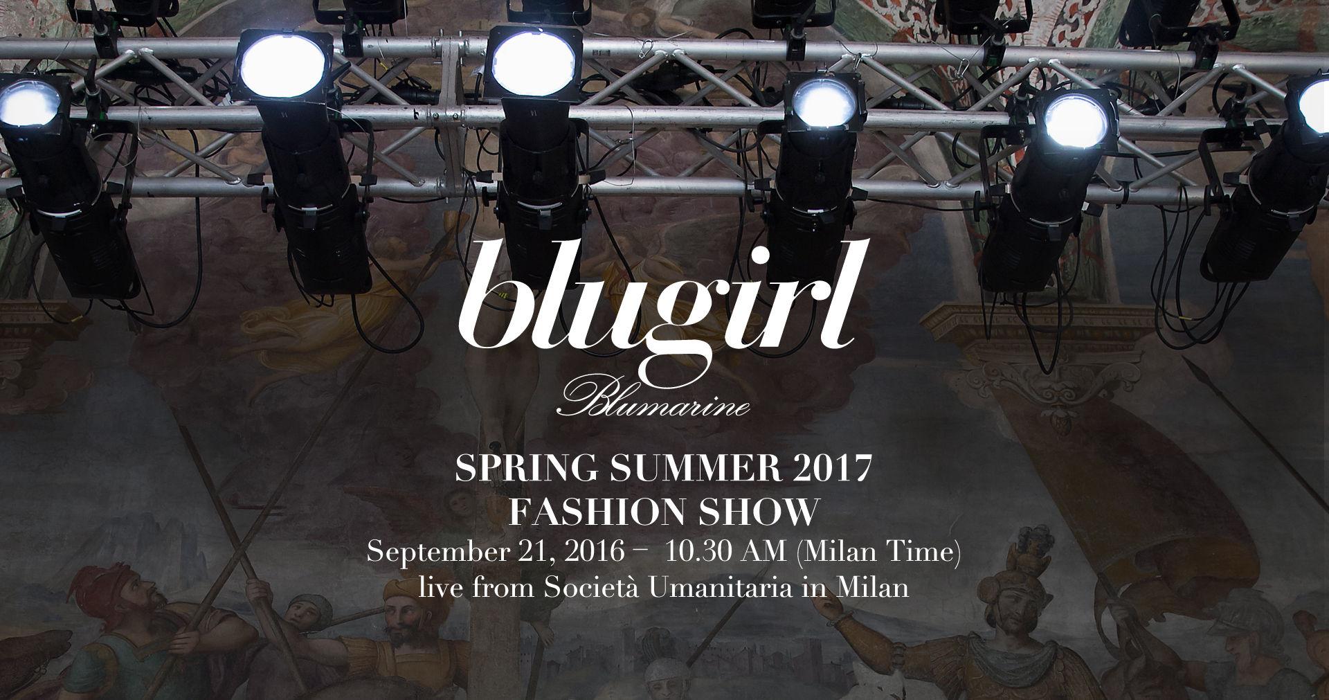 Blugirl Spring Summer 2017 Women s Fashion Show Live Streaming Milan