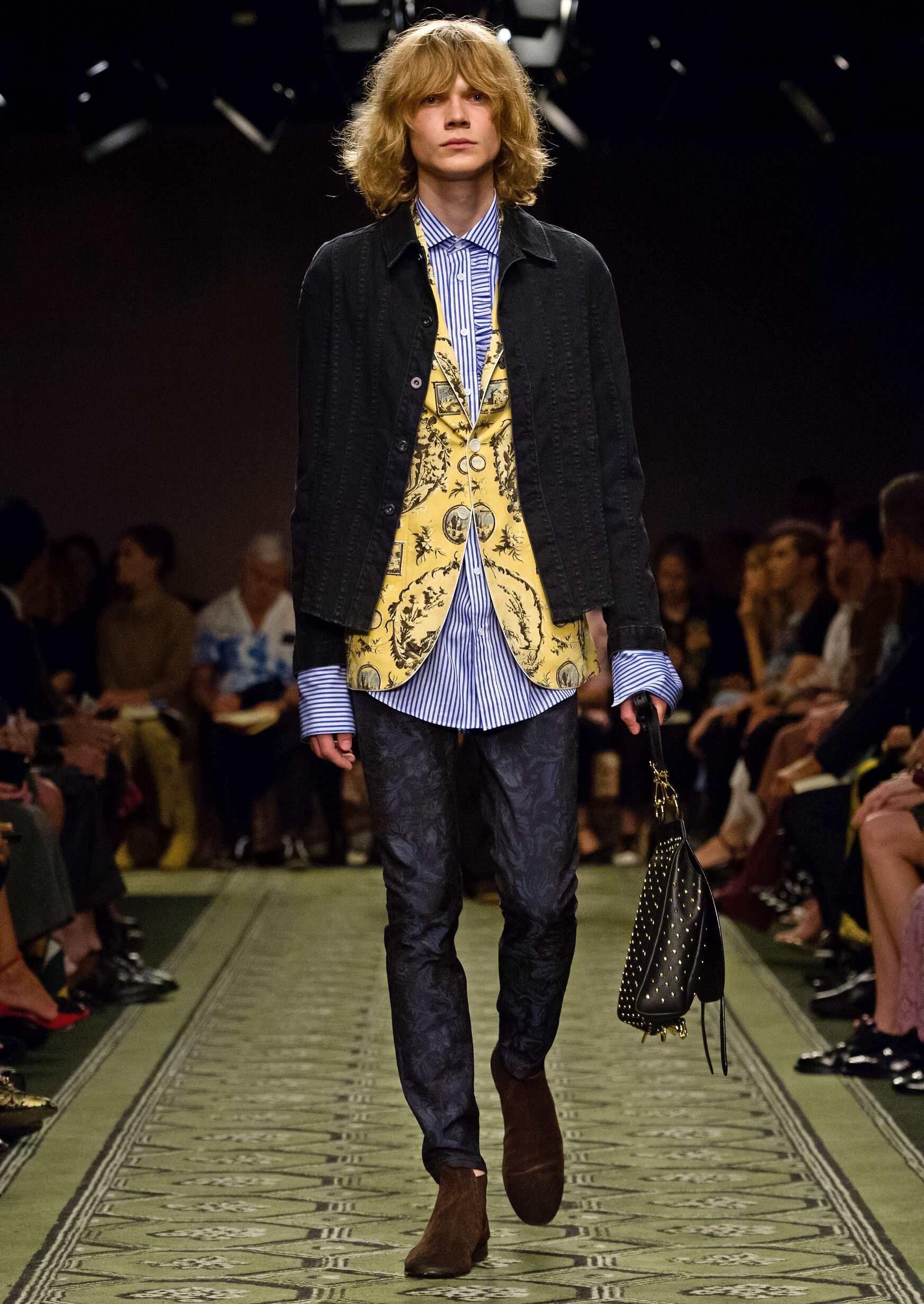 Burberry 2016 Man London Fashion Week