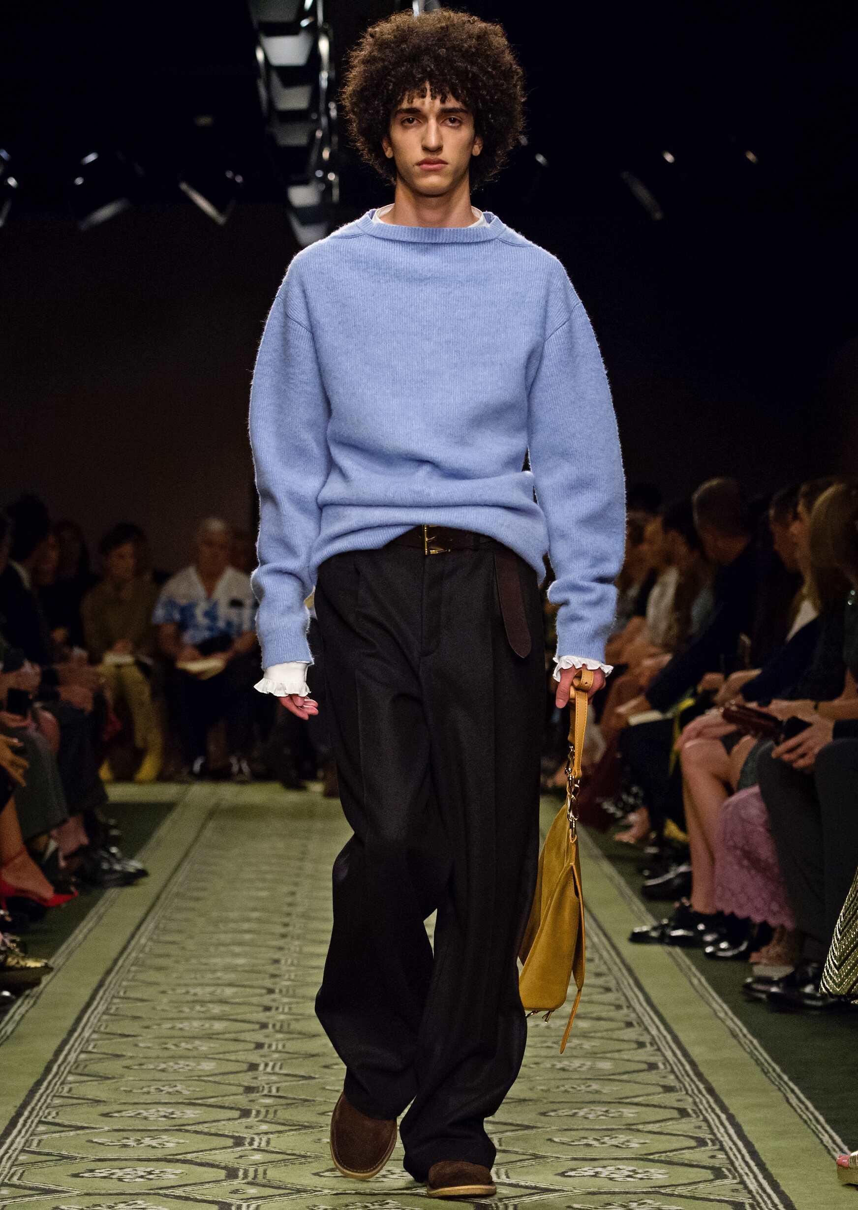 Burberry Menswear Fashion Show London Fashion Week