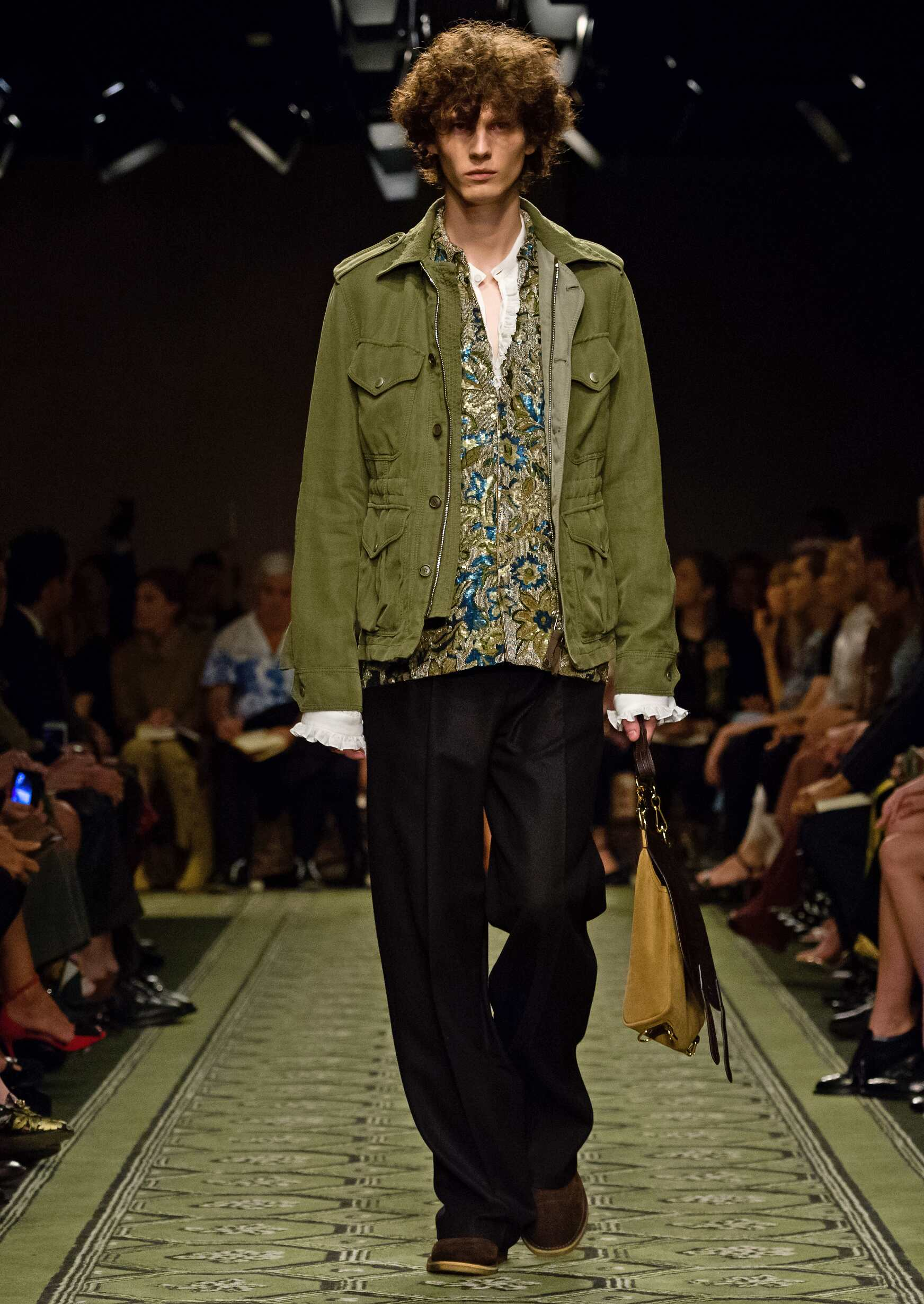 Burberry September 2016 Collection Menswear London Fashion Week