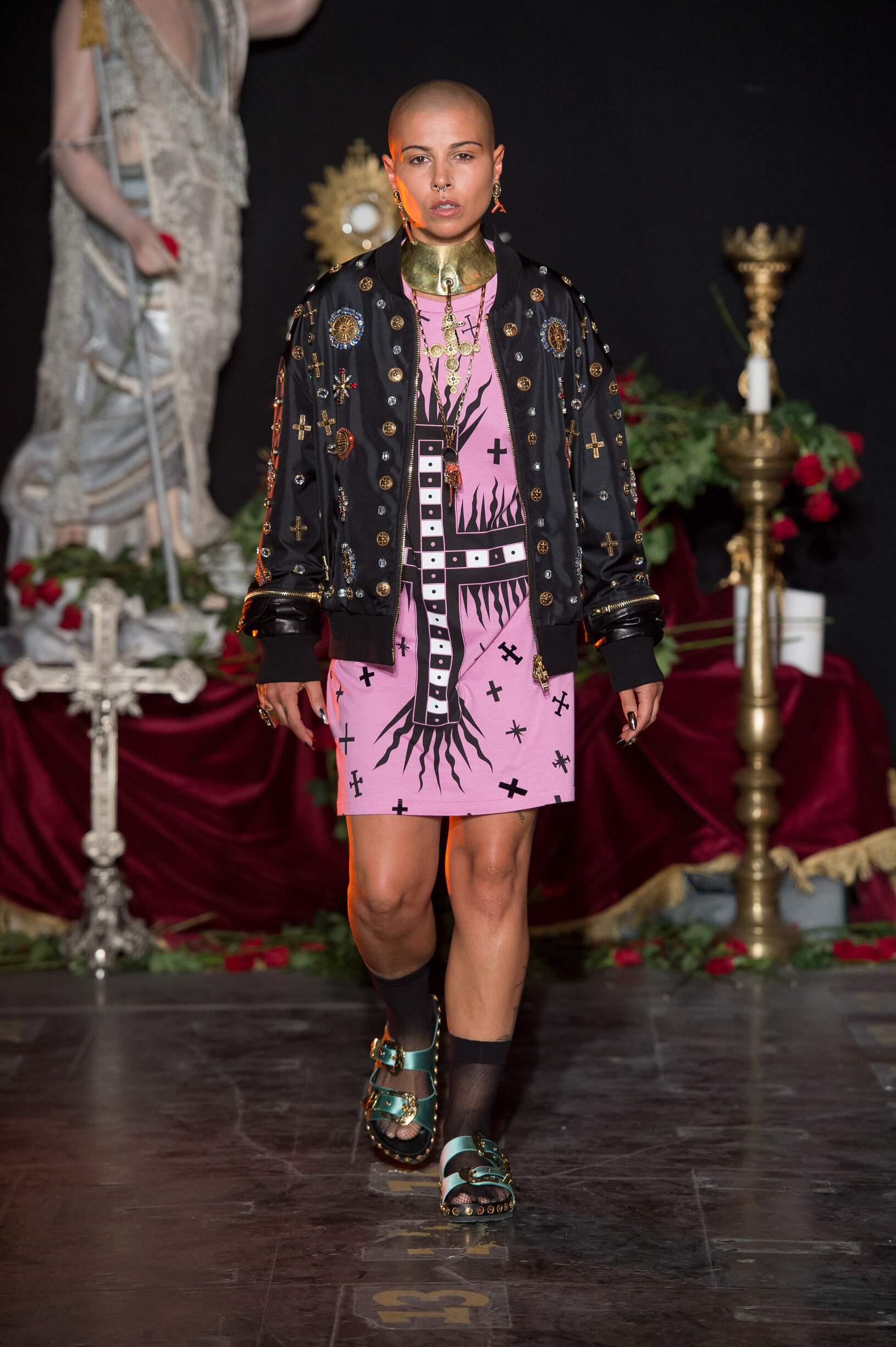 Catwalk Fausto Puglisi Woman Fashion Show Summer 2017