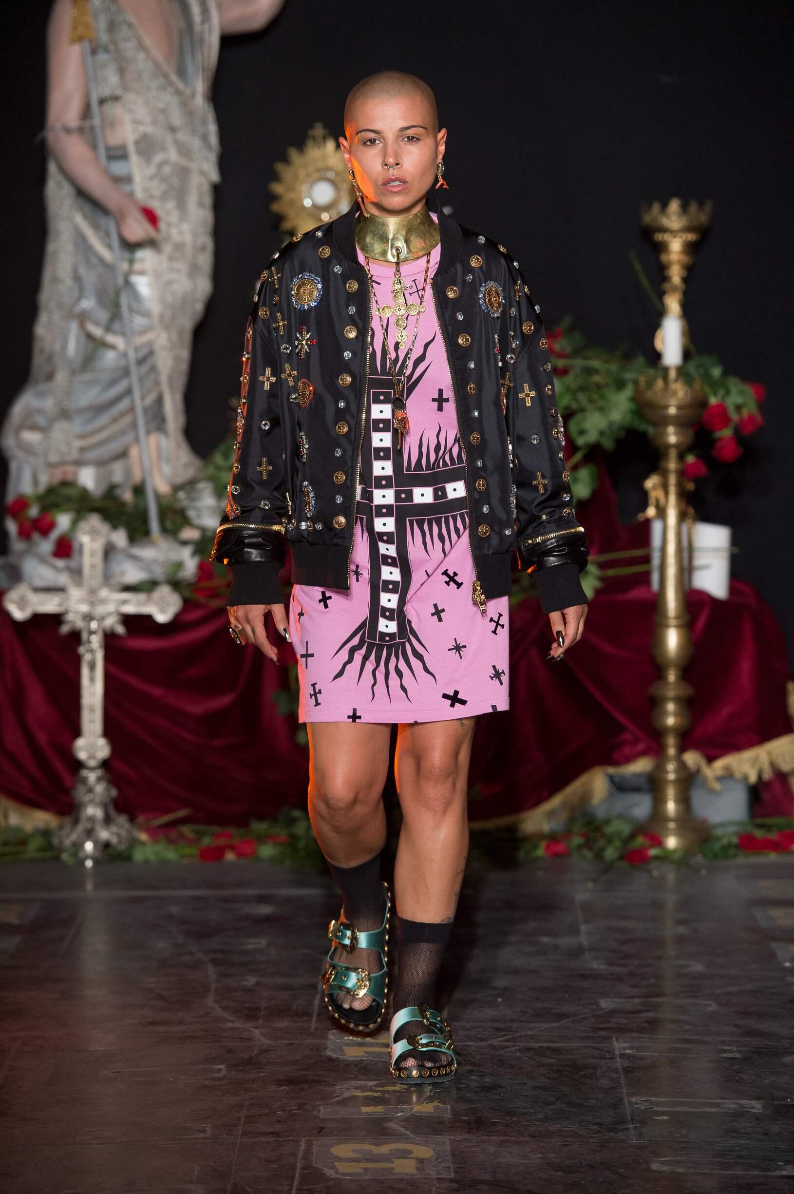 Catwalk Fausto Puglisi Woman Fashion Show Summer 2017